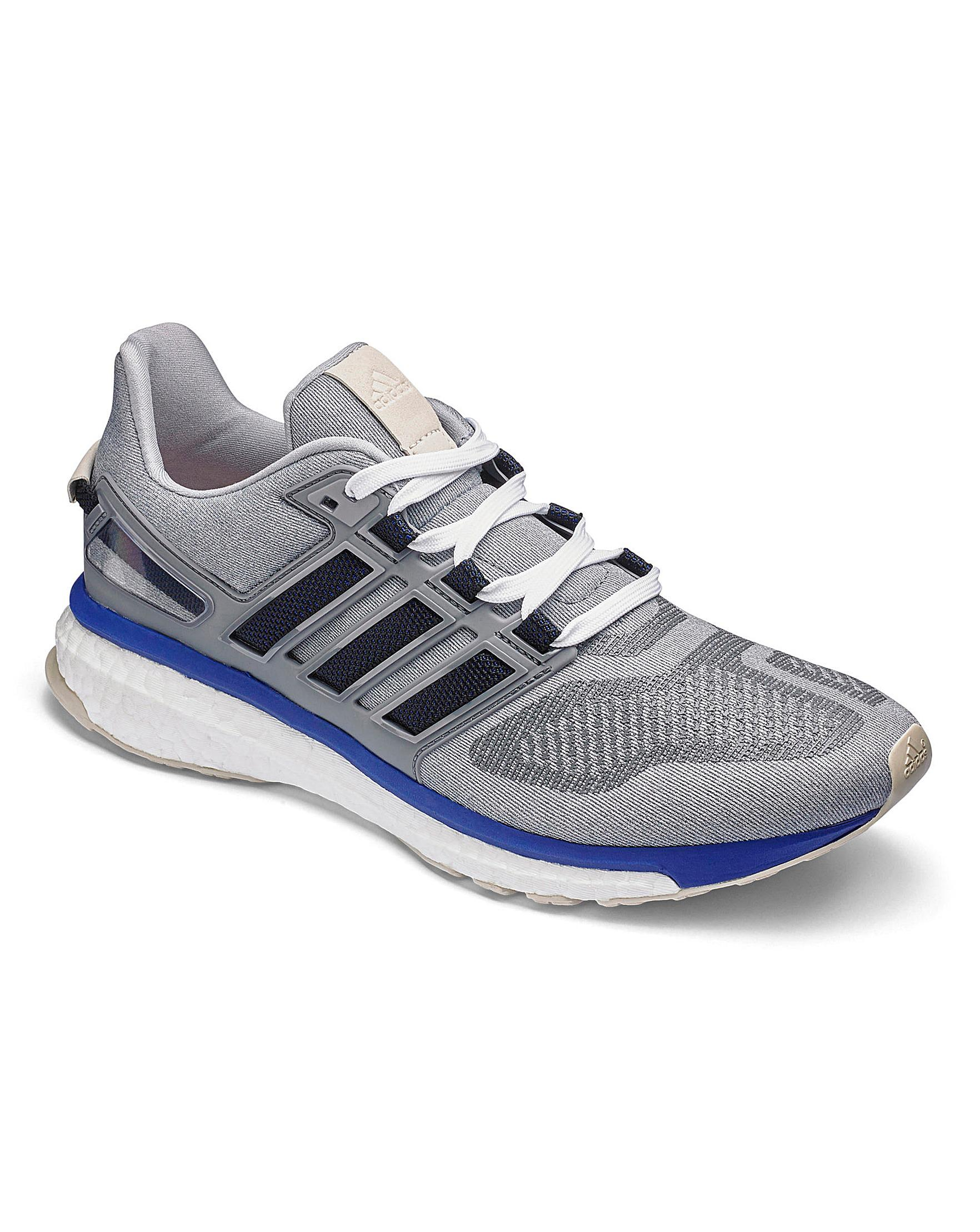 huge discount fee67 6541e adidas. Mens Gray Energy Boost 3 Trainers