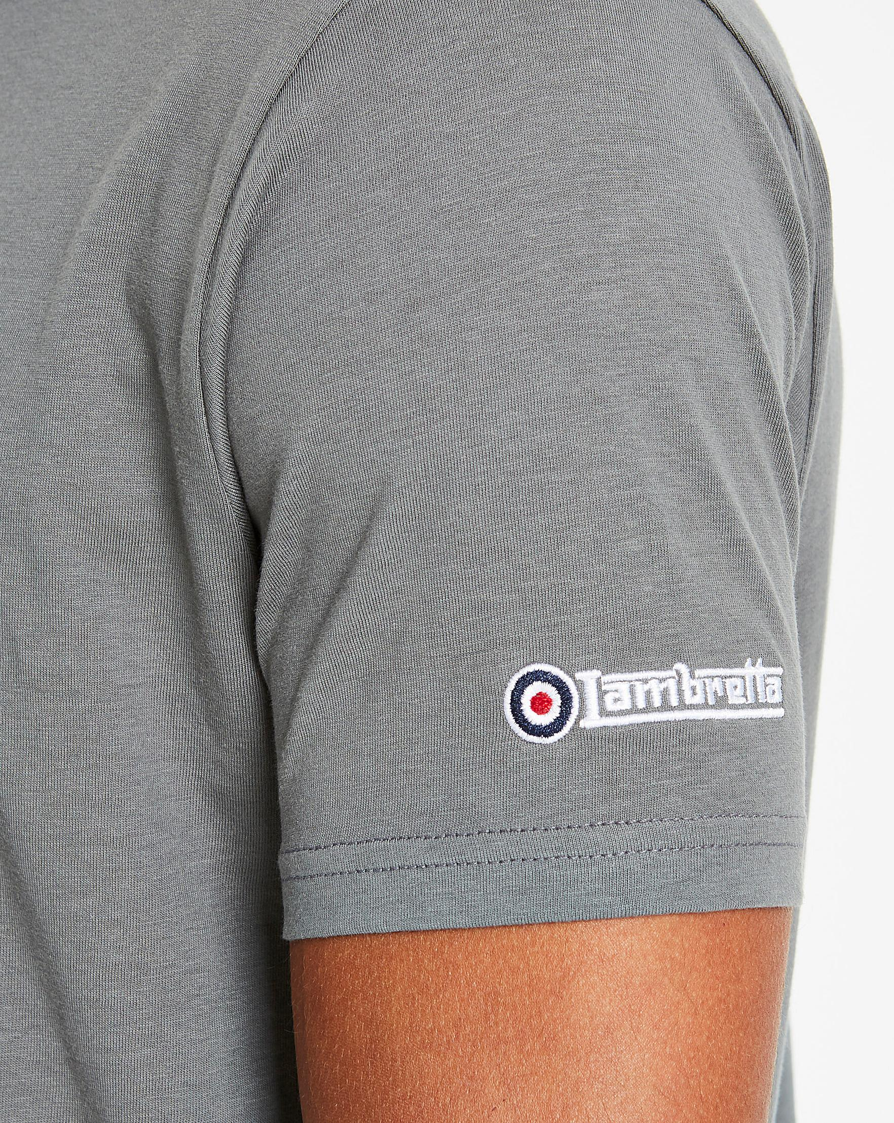 Lambretta Northern Soul Tee Long in Gray for Men - Lyst