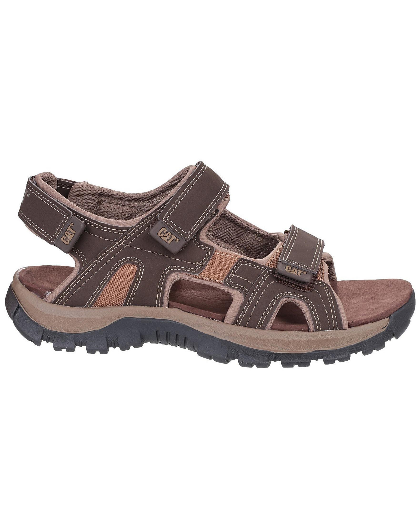 2e8d23bd6 Caterpillar Giles Sandals in Brown for Men - Save 4% - Lyst