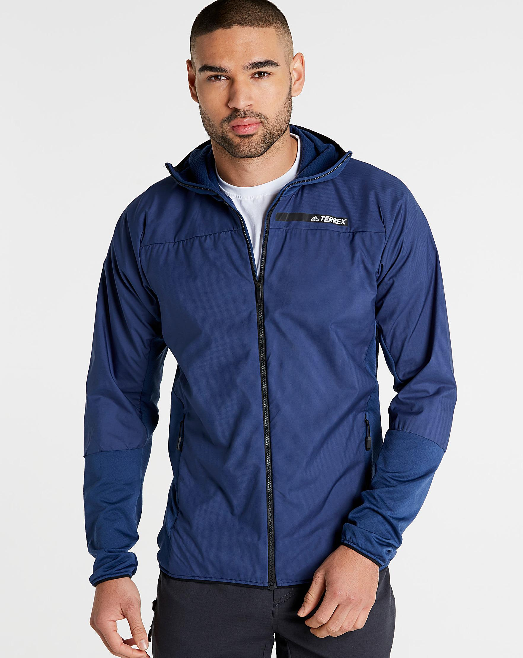 058d1d679 adidas Terrex Skyclimb Jacket in Blue for Men - Lyst