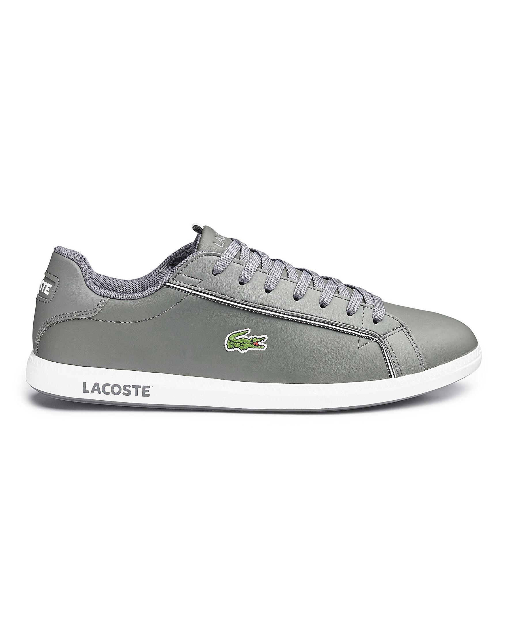 3f512ca01065 Lacoste - Gray Graduate Trainers for Men - Lyst. View fullscreen