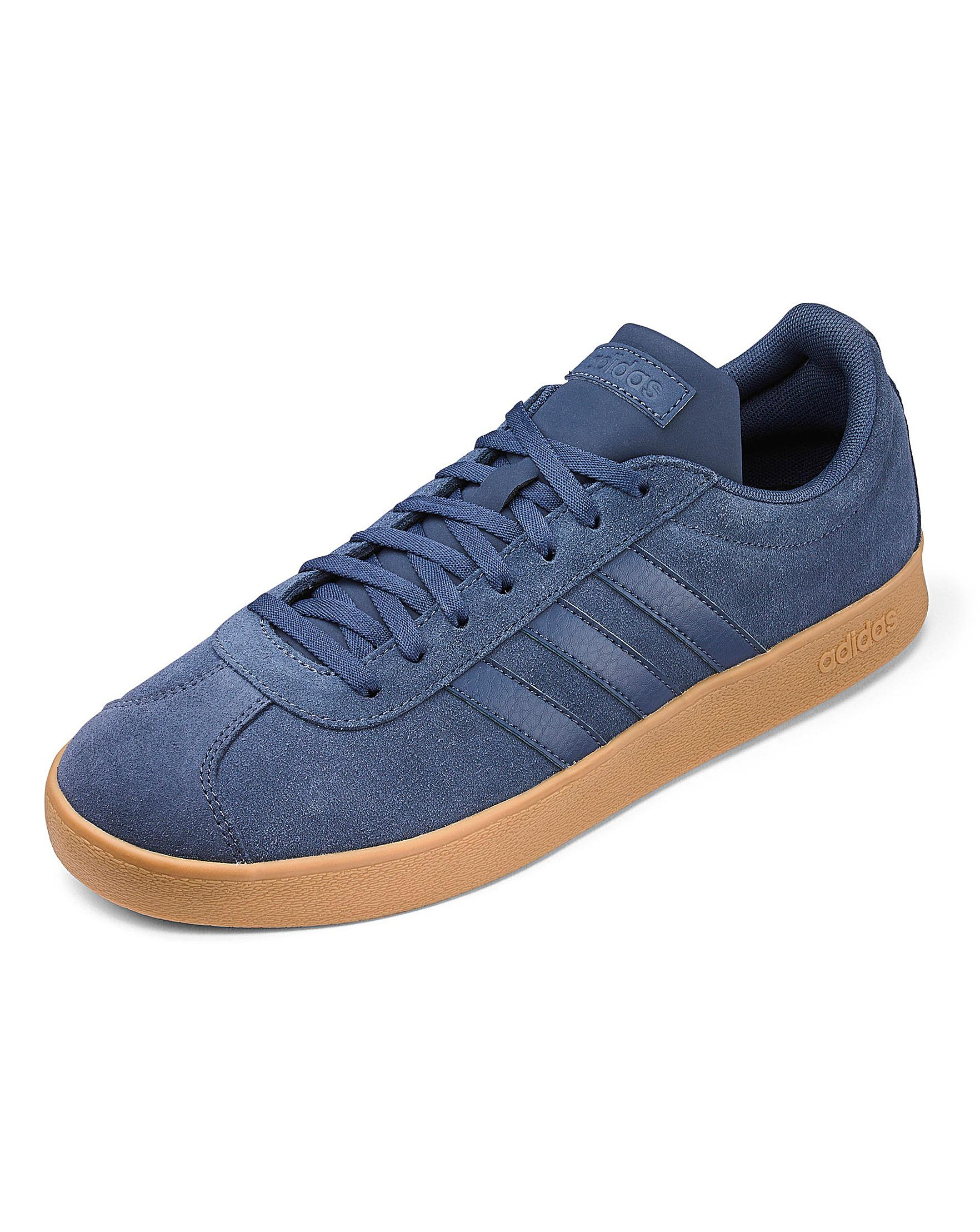 ddbaef5b3915 adidas Vl Court 2.0 Trainers in Blue for Men - Lyst