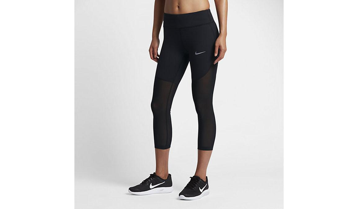 Nike Black Power Epic Lux Cool Women s Running Crops
