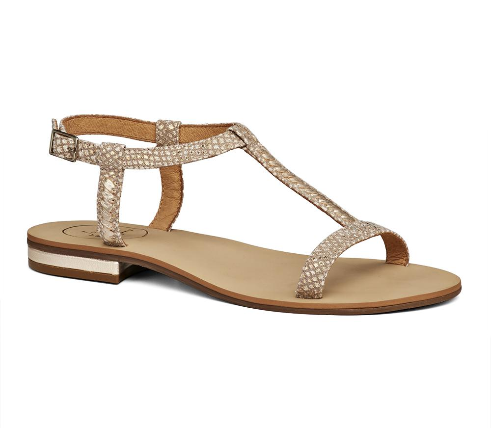Jack Rogers. Women's Metallic Cheney Sandal
