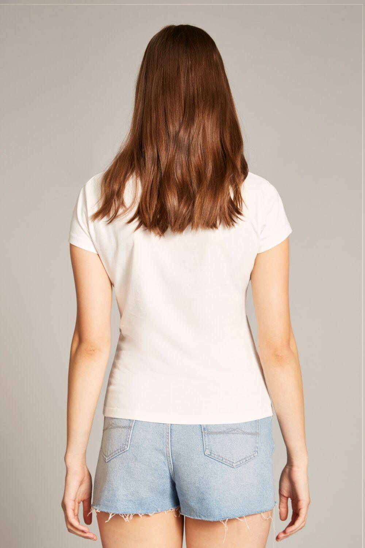 Jack Wills Raffile Henley T Shirt in White - Lyst