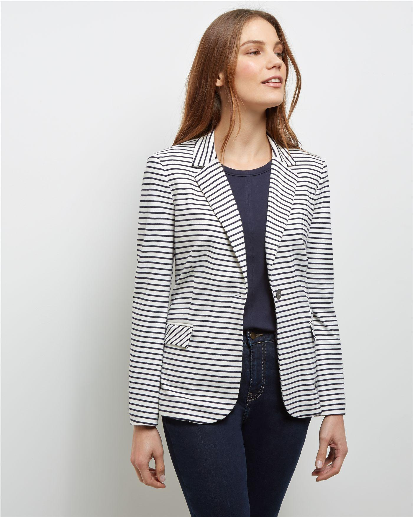 Find striped blazer women at ShopStyle. Shop the latest collection of striped blazer women from the most popular stores - all in one place.