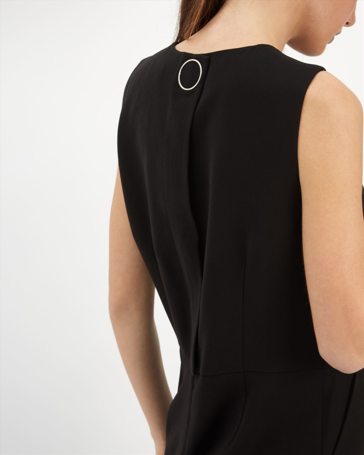 Perfect Black Jumpsuit From Stella Mccartney Featuring A Vneck Short Sleeves