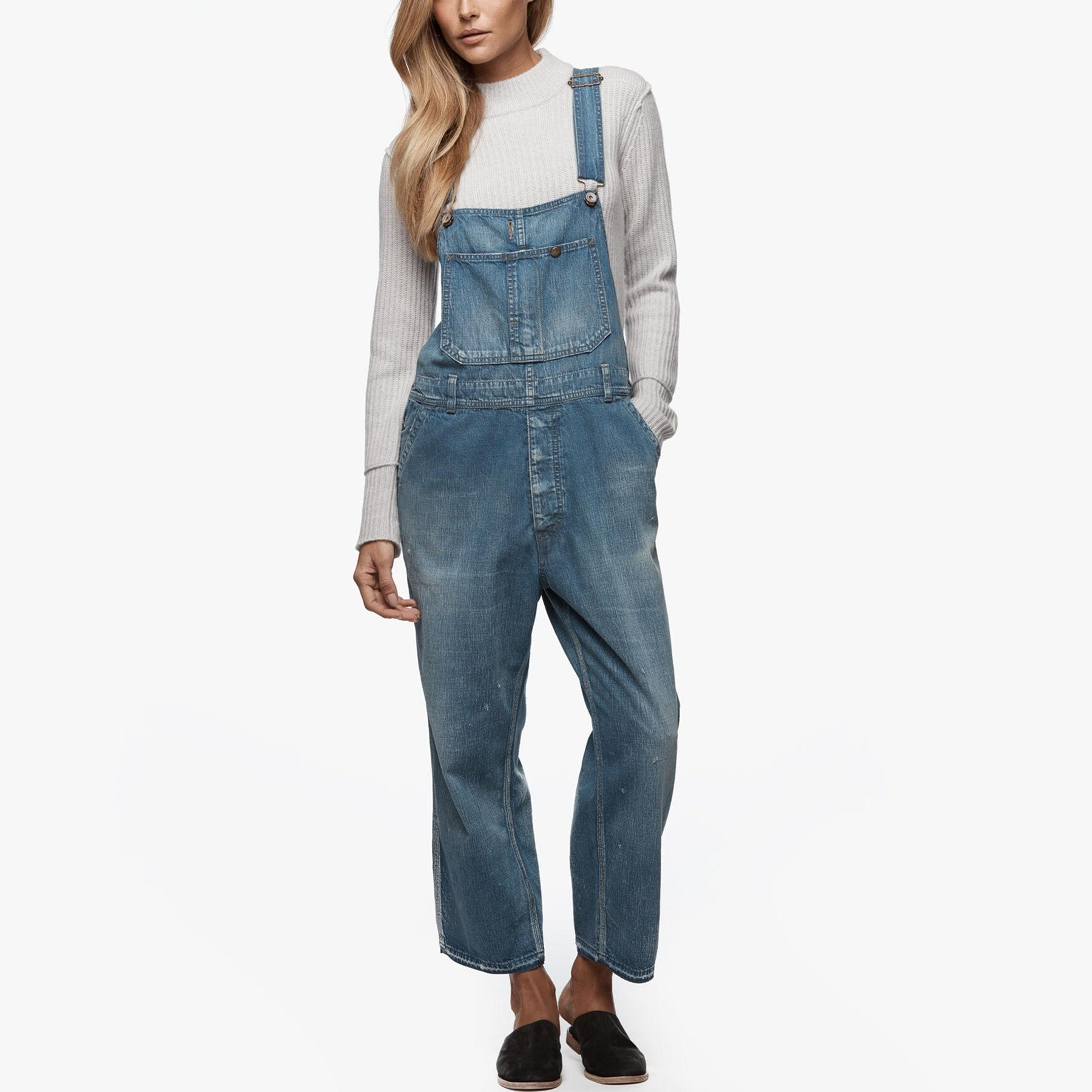 884526fee52 Gallery. Women s Denim Overalls Women s Denim Jumpsuits ...
