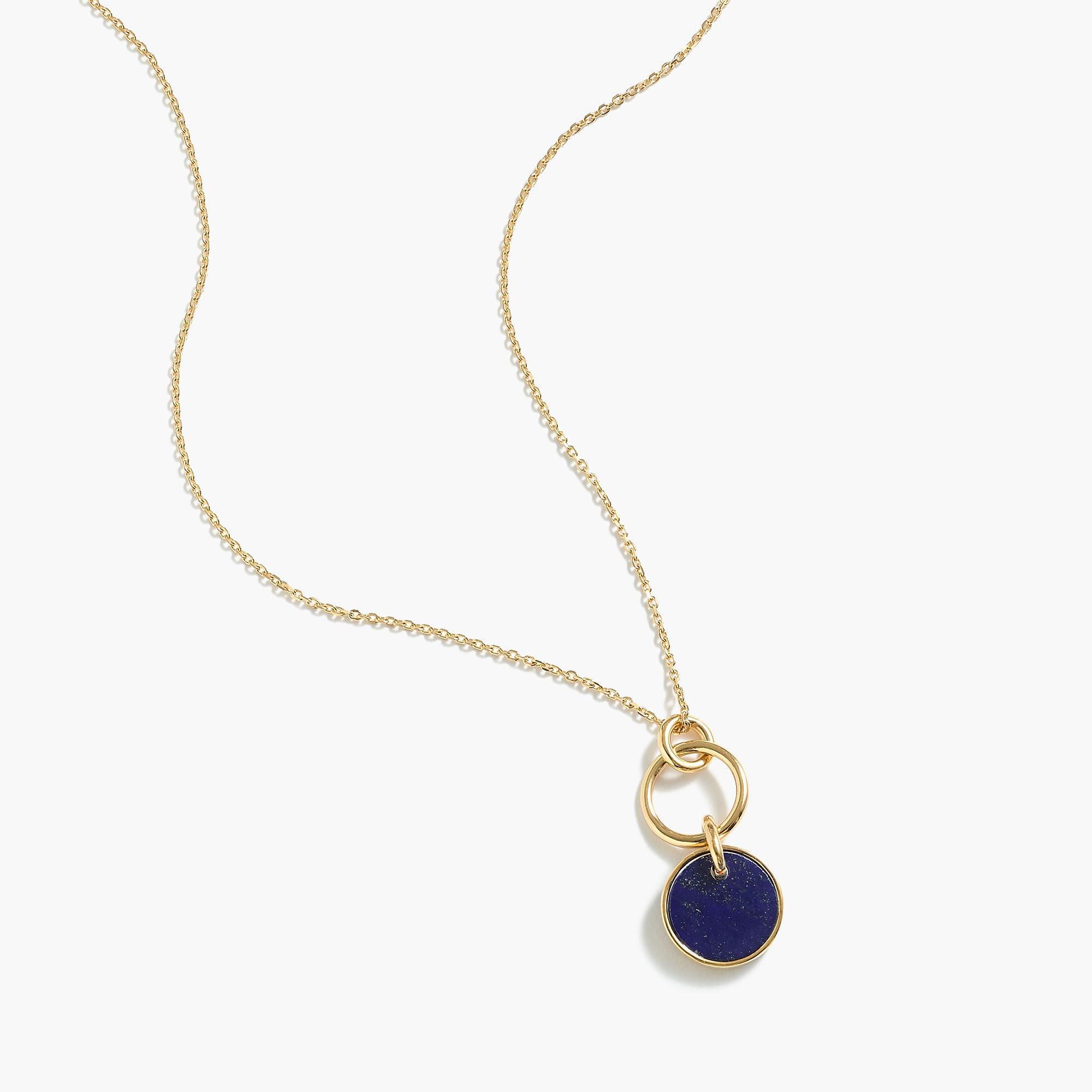 60e9fea704e J.Crew Demi-fine 14k Gold-plated Turquoise Pendant Necklace in ...