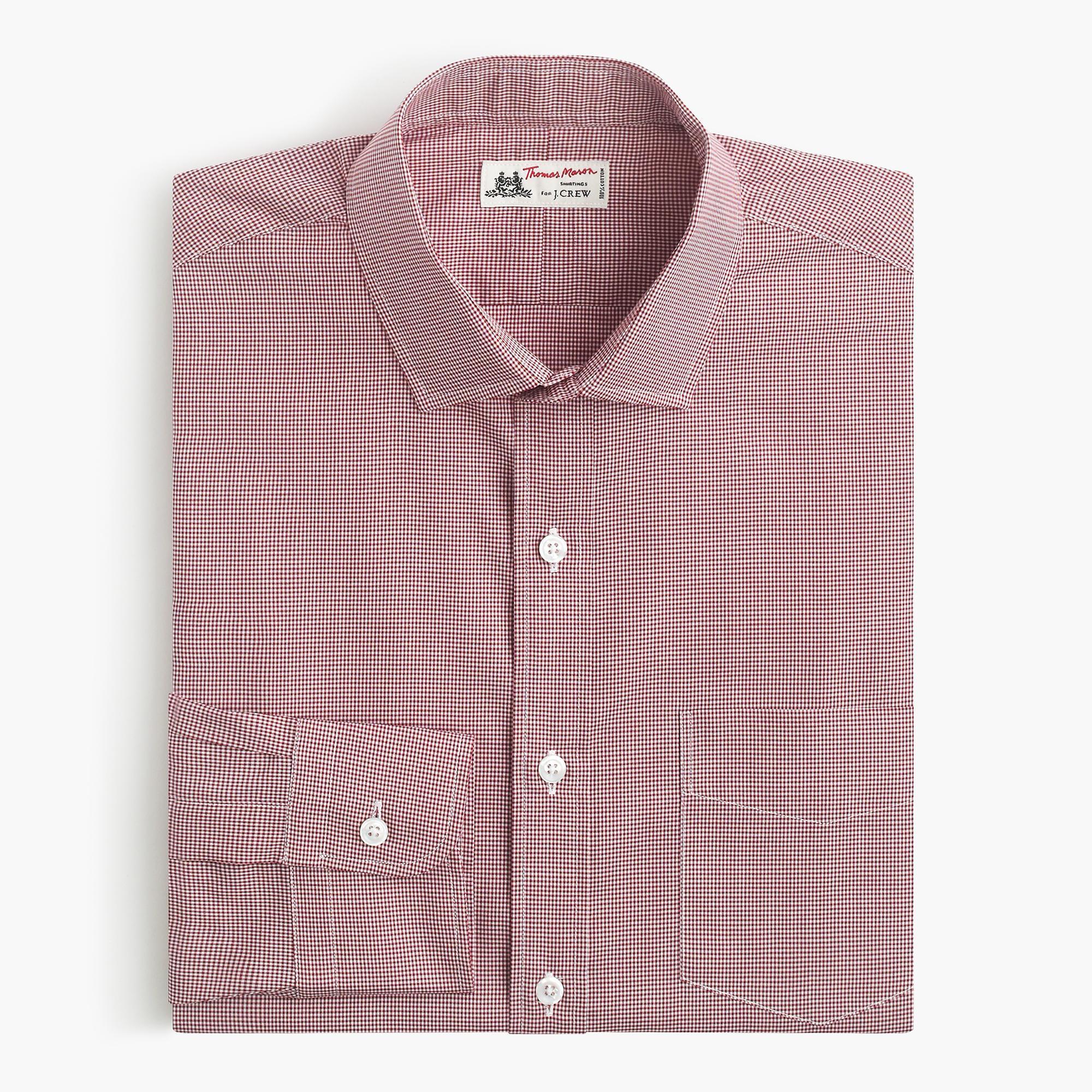 Thomas mason spread collar dress shirt in for Thomas mason dress shirts