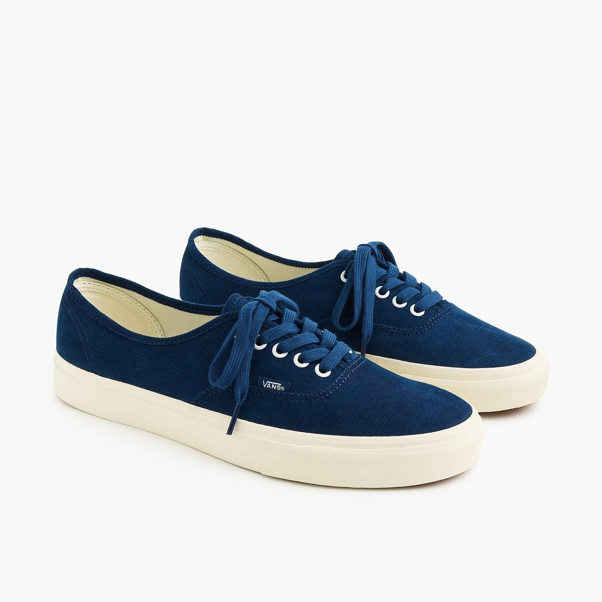 a52c2424e77d0f Vans Authentic Sneakers In Bedford Cord in Blue for Men - Lyst