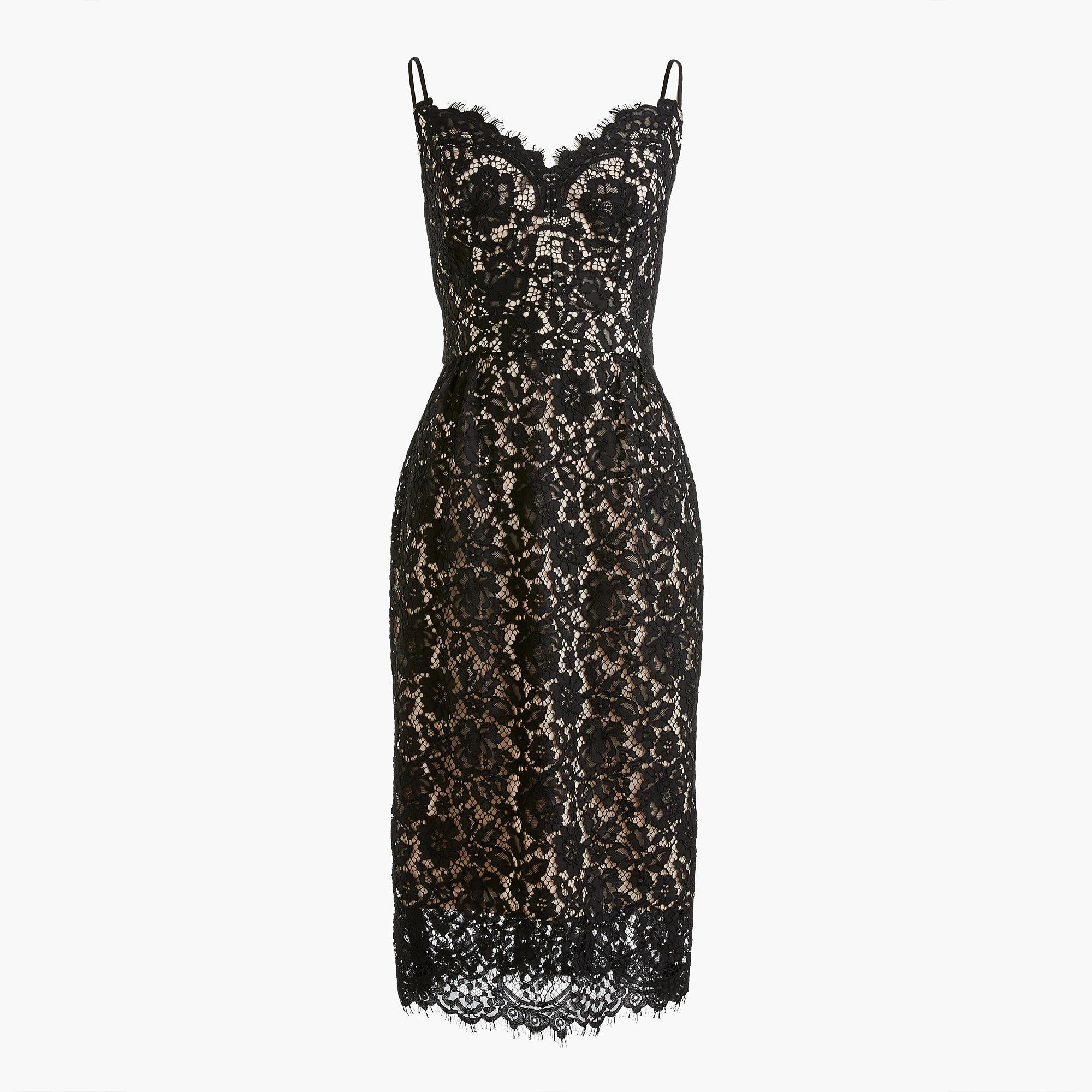 Lyst - J.Crew Perfect Party Dress in Black