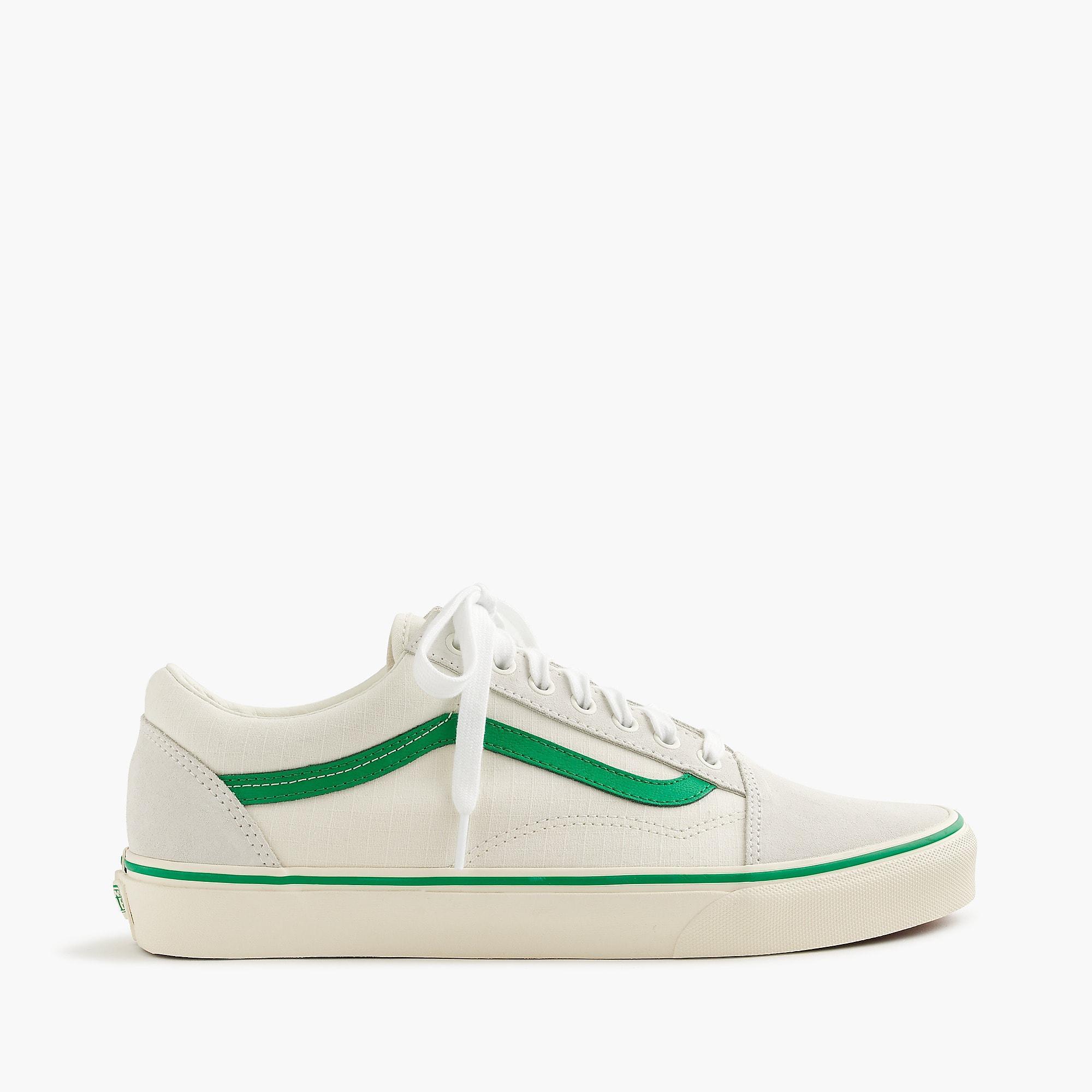 706ba0e659f5c7 Lyst - Vans Old Skool Sneakers In Ripstop Cotton in Green for Men