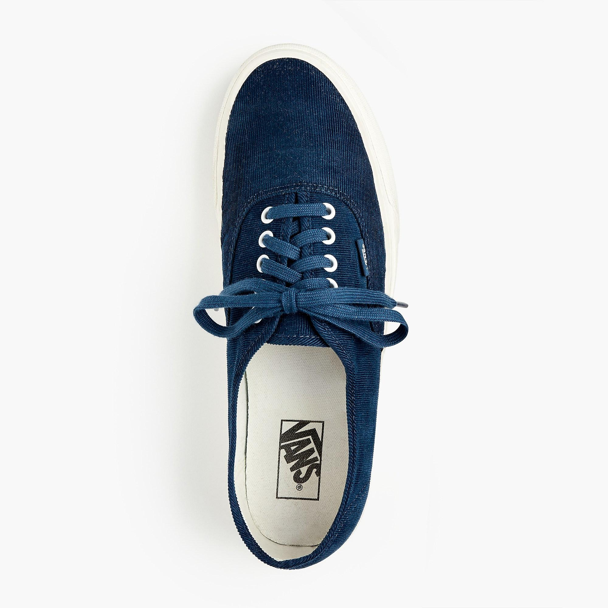 d00655e8fde0c2 Lyst - Vans Authentic Sneakers In Bedford Cord in Blue for Men