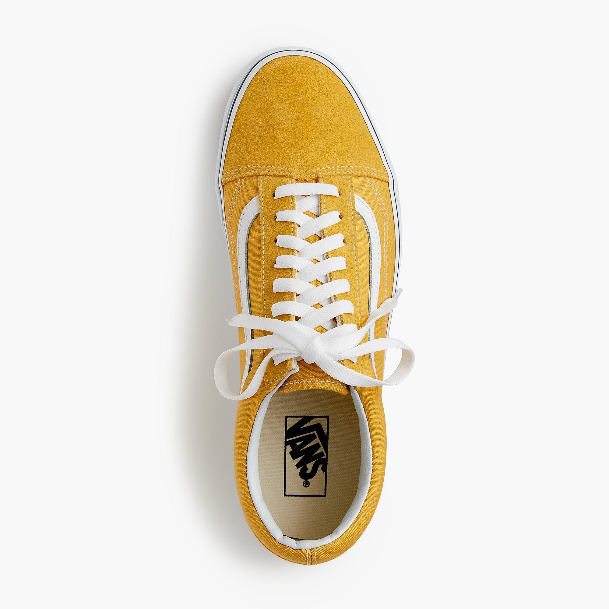 a6db64b2b7bb30 Vans. Men s Yellow Old Skool Trainers In Canvas.  111 From J.Crew