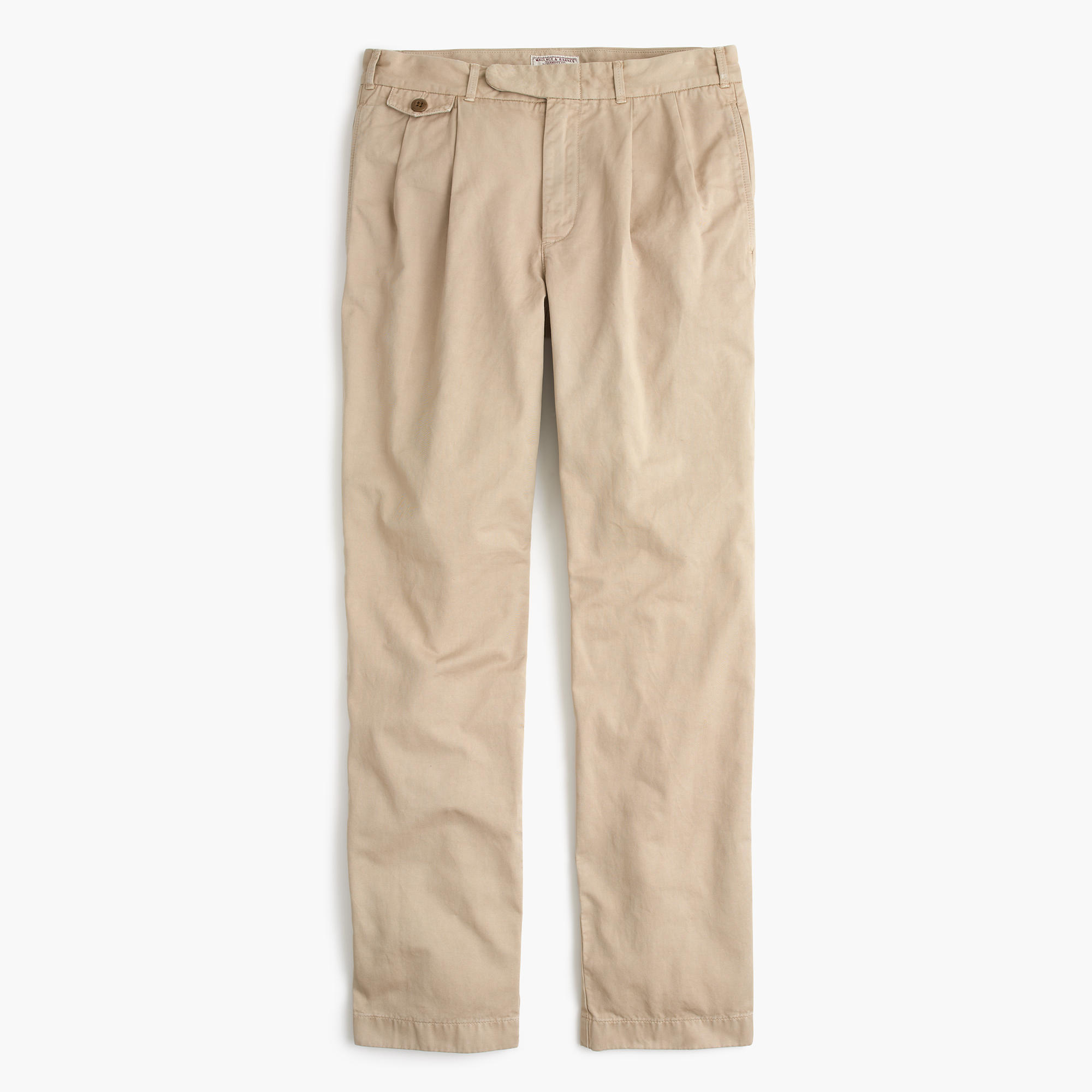 1aaf726ebc72 Lyst - J.Crew Wallace   Barnes Double-pleated Relaxed-fit Military ...