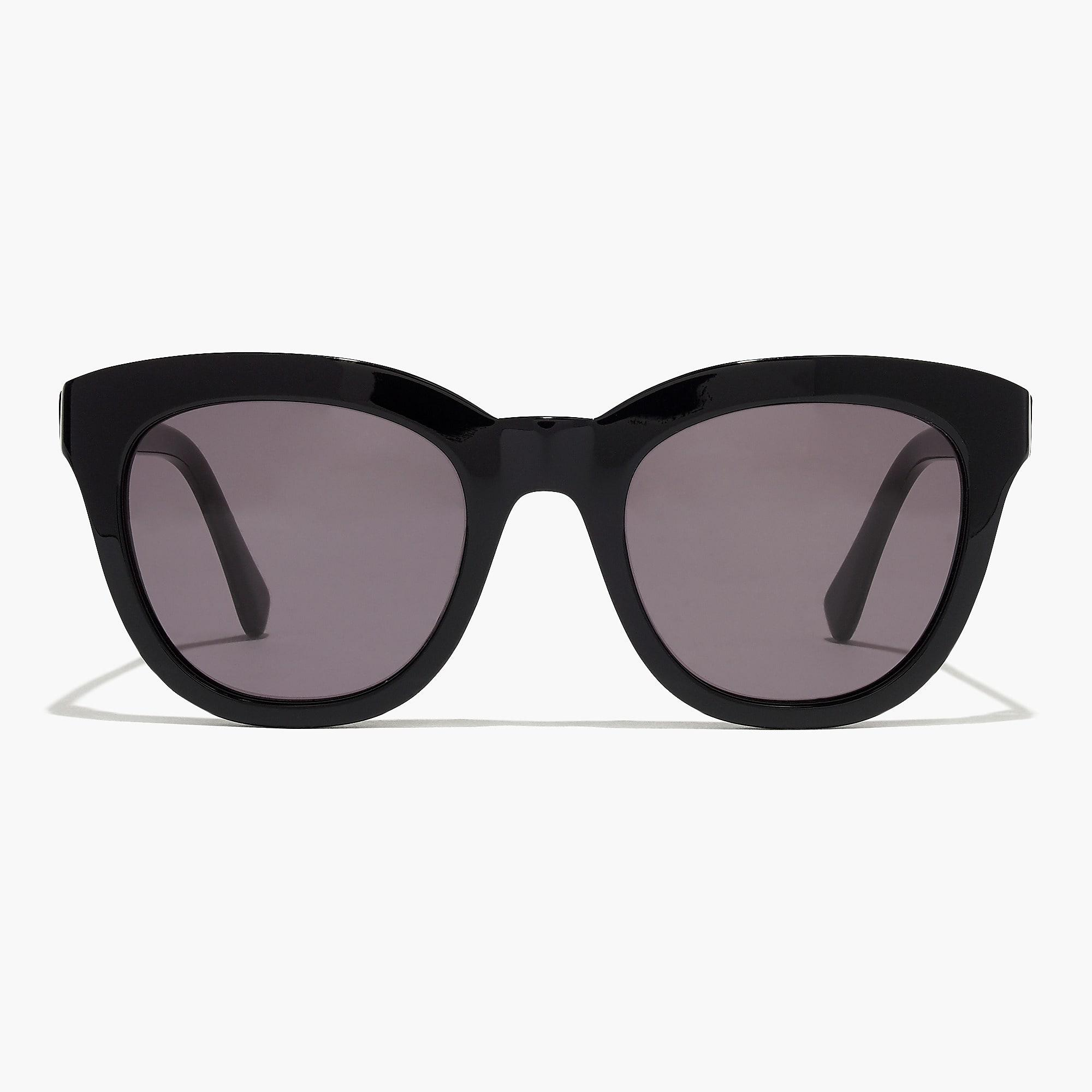 9ab349505f J.Crew Cabana Oversized Sunglasses in Black - Lyst
