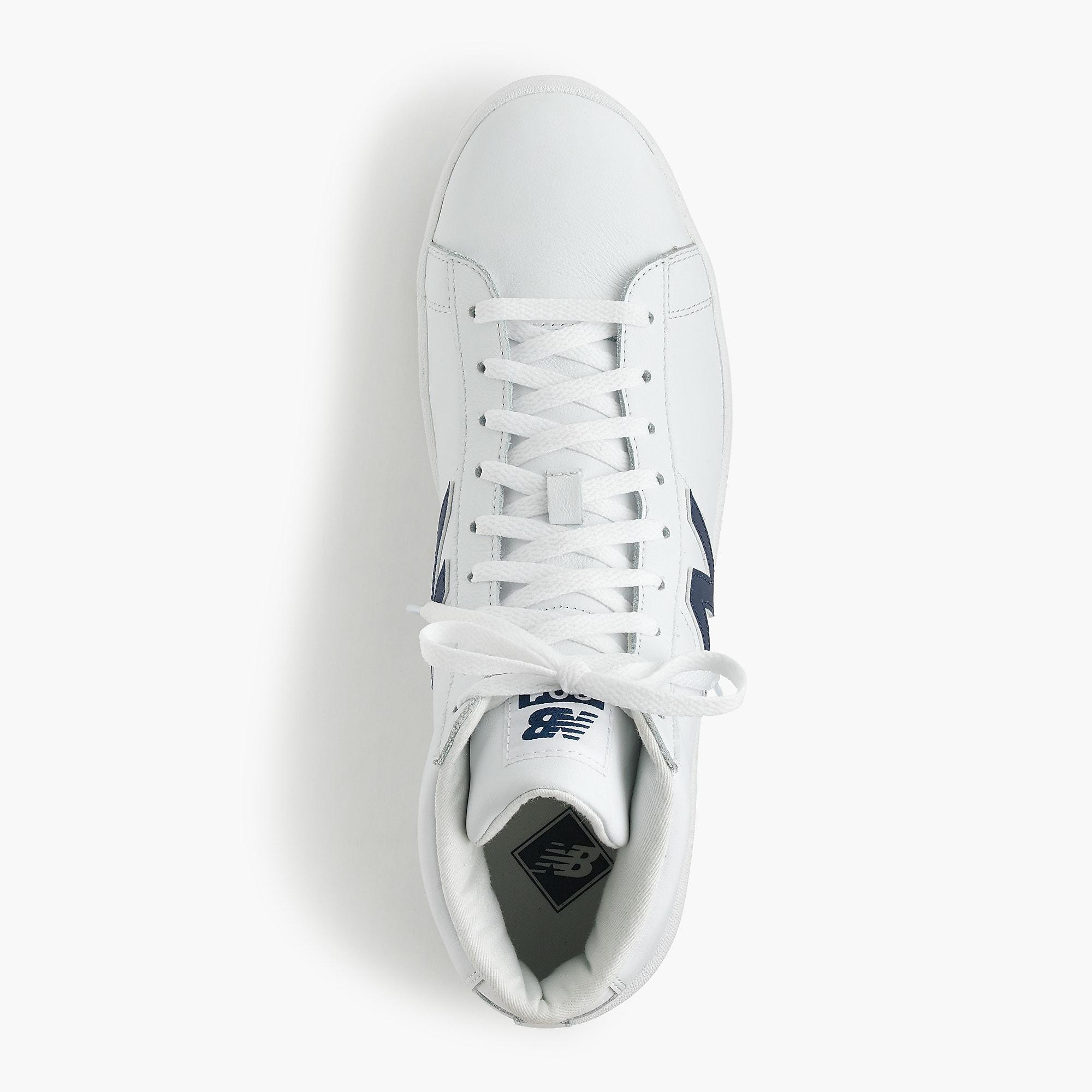 c9f90cac653 New Balance 891 Leather High-top Sneakers in White for Men - Lyst