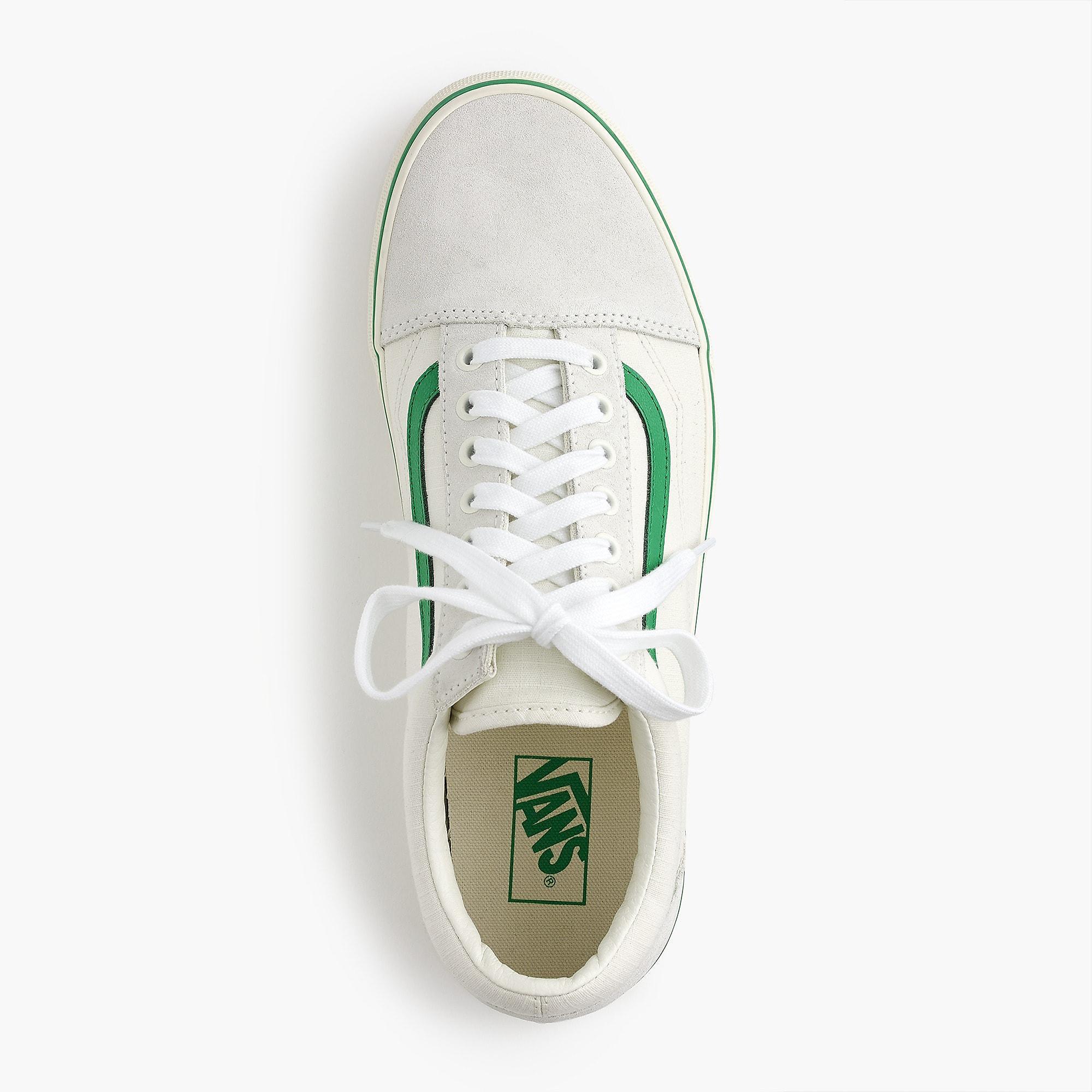 55de9fa0cd18 Lyst - Vans Old Skool Sneakers In Ripstop Cotton in Green for Men