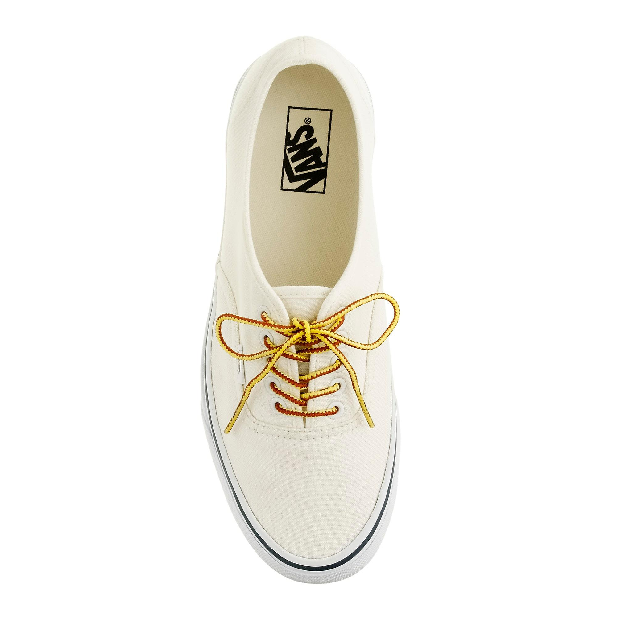d0b439fe2f Lyst - Vans Canvas Authentic Sneakers in White for Men
