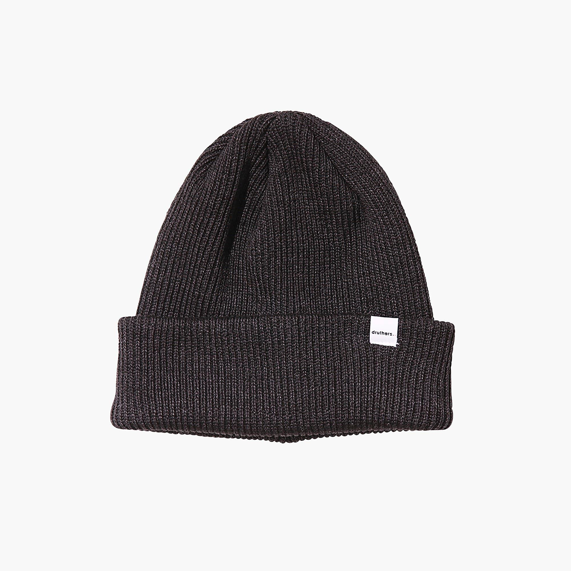 4f10fa52 Lyst - Druthers Recycled Cotton Knit Beanie in Gray for Men