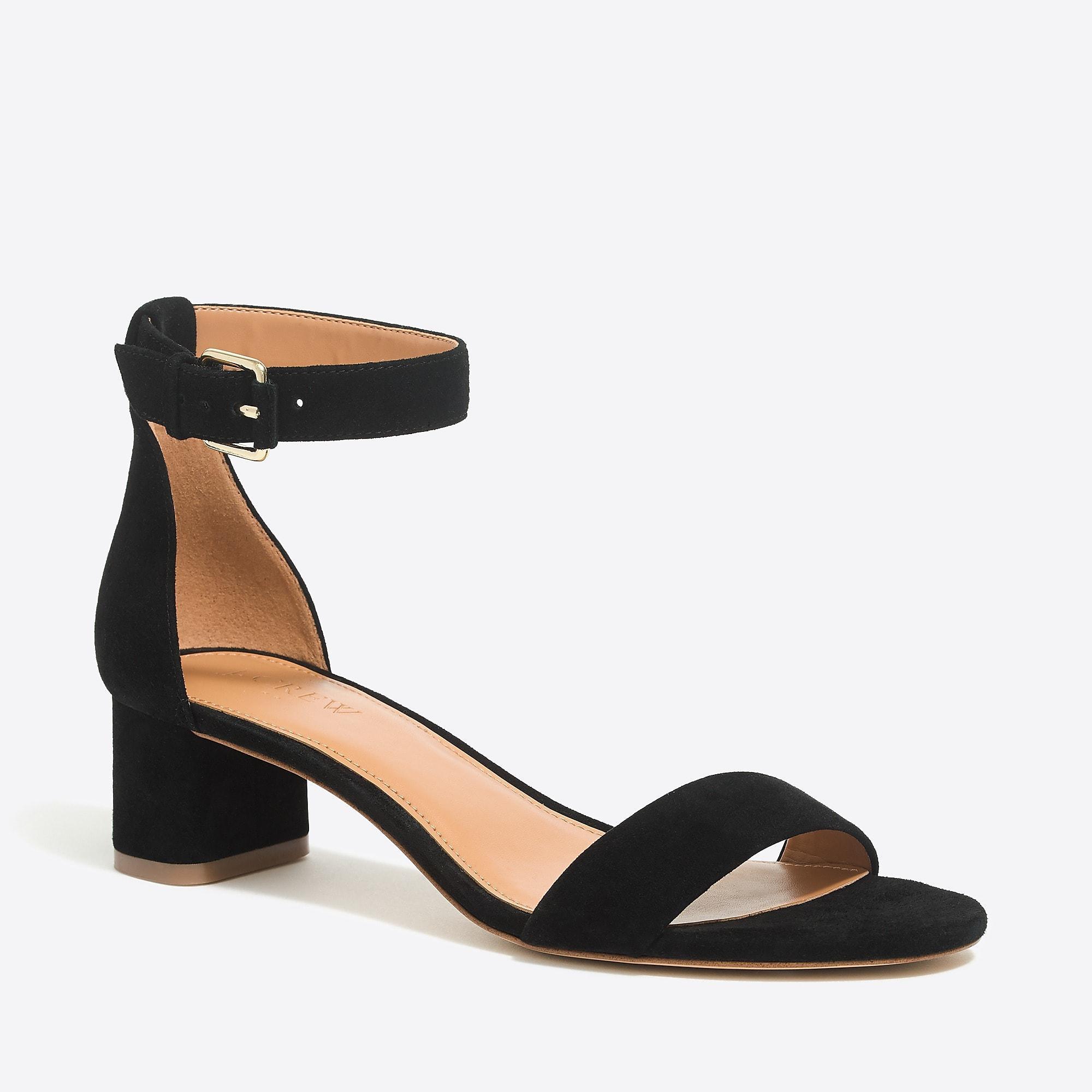 J.CREW STRAPPY LADY ALICE - Sandals - black