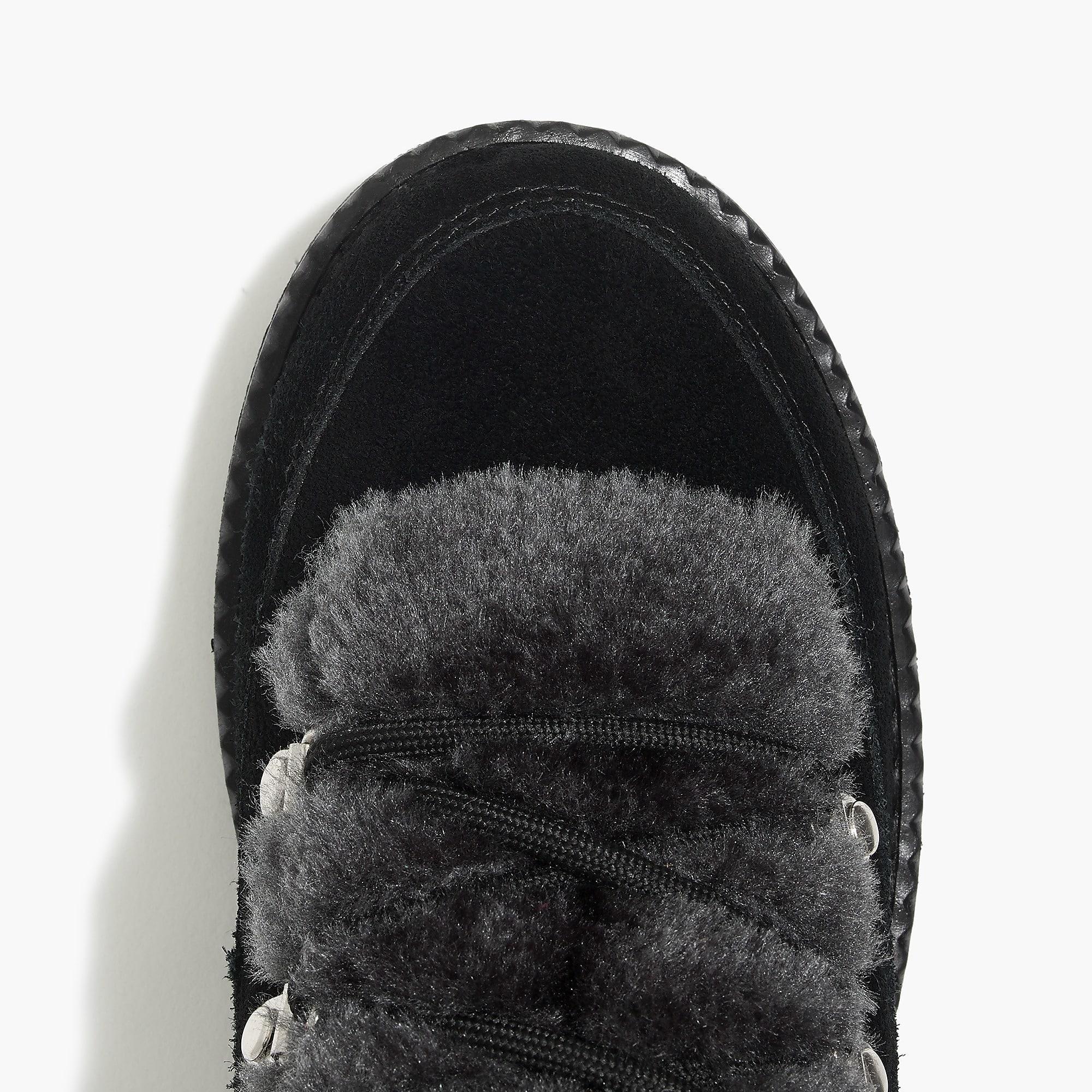 d3f9334357 J.Crew - Black Winter Lace-up Boots - Lyst. View fullscreen