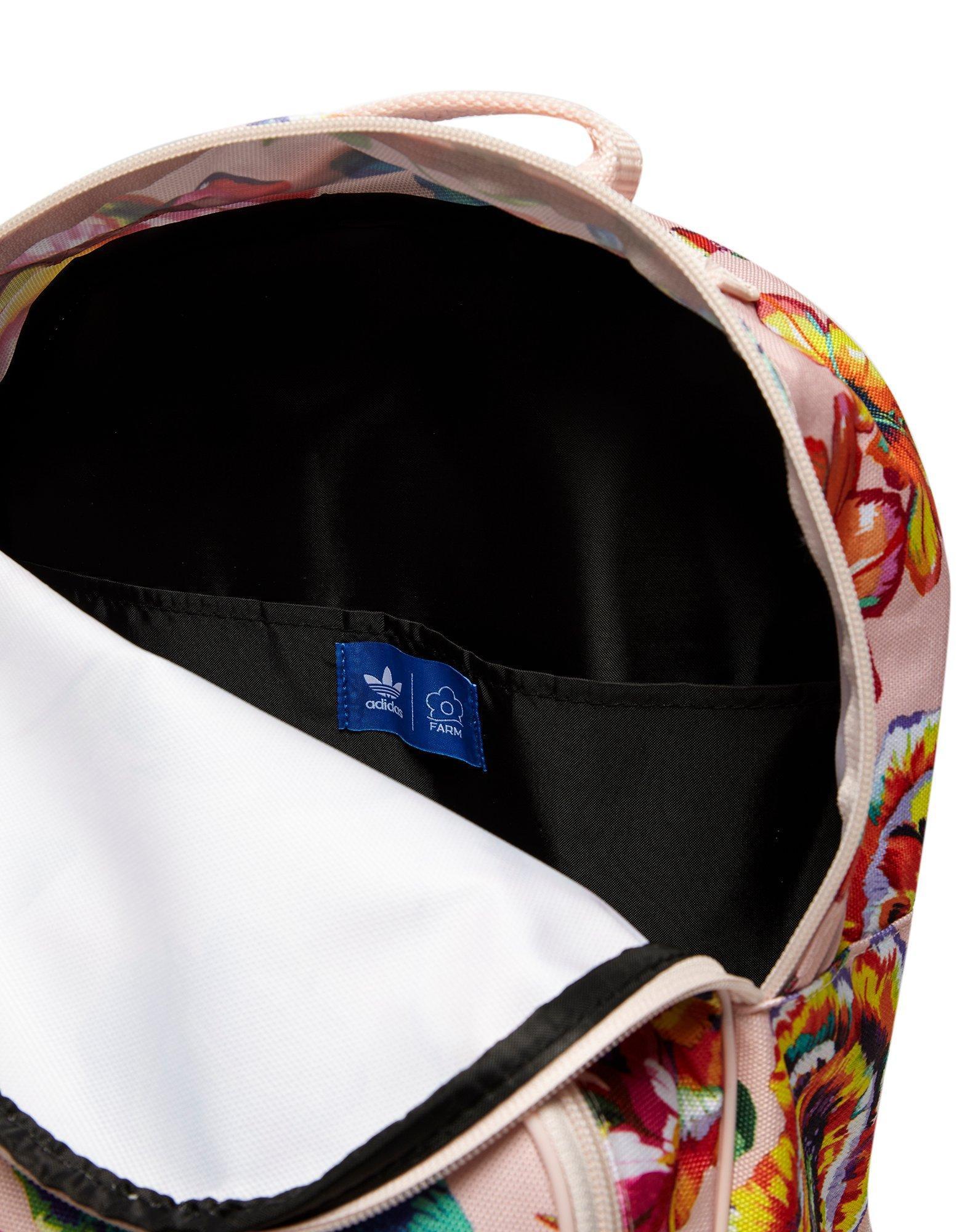 Mochila Adidas Adidas Originals Farm Floralita Farm en Originals White Lyst e4f7bf5 - hvorvikankobe.website