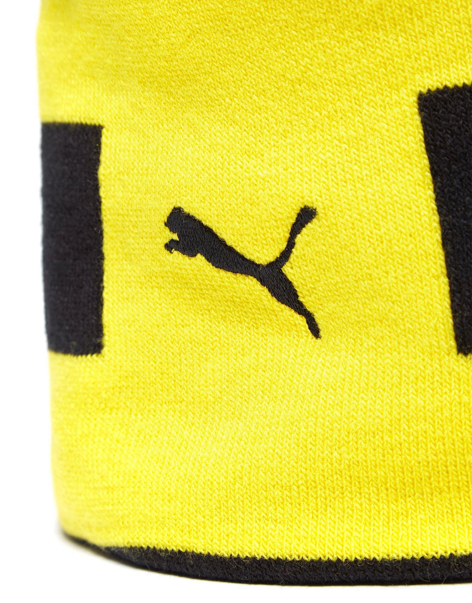 0801db19fb37 Lyst - PUMA Borussia Dortmund Performance Beanie Hat in Yellow for Men