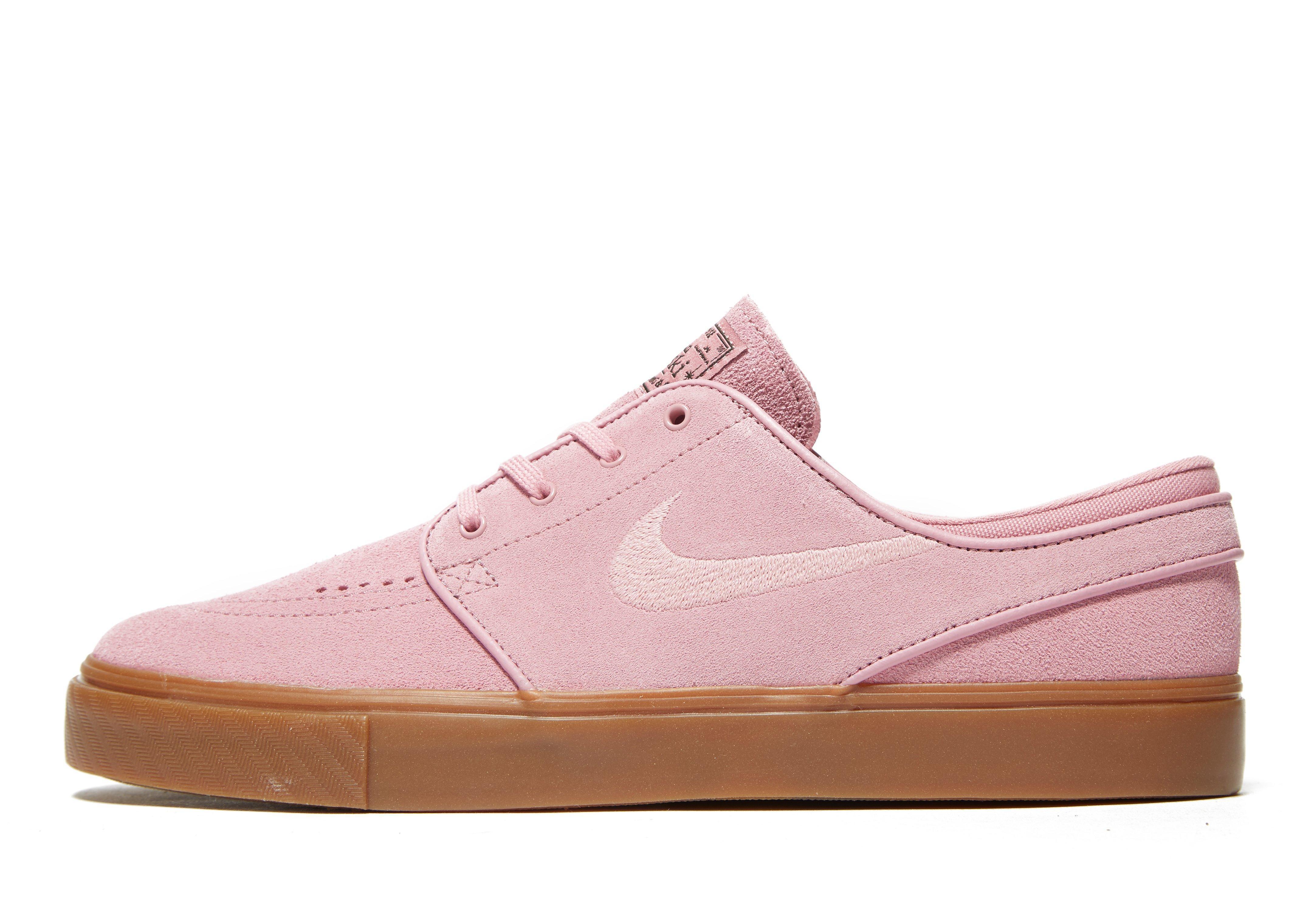 Nike. Men's Pink Zoom Stefan Janoski