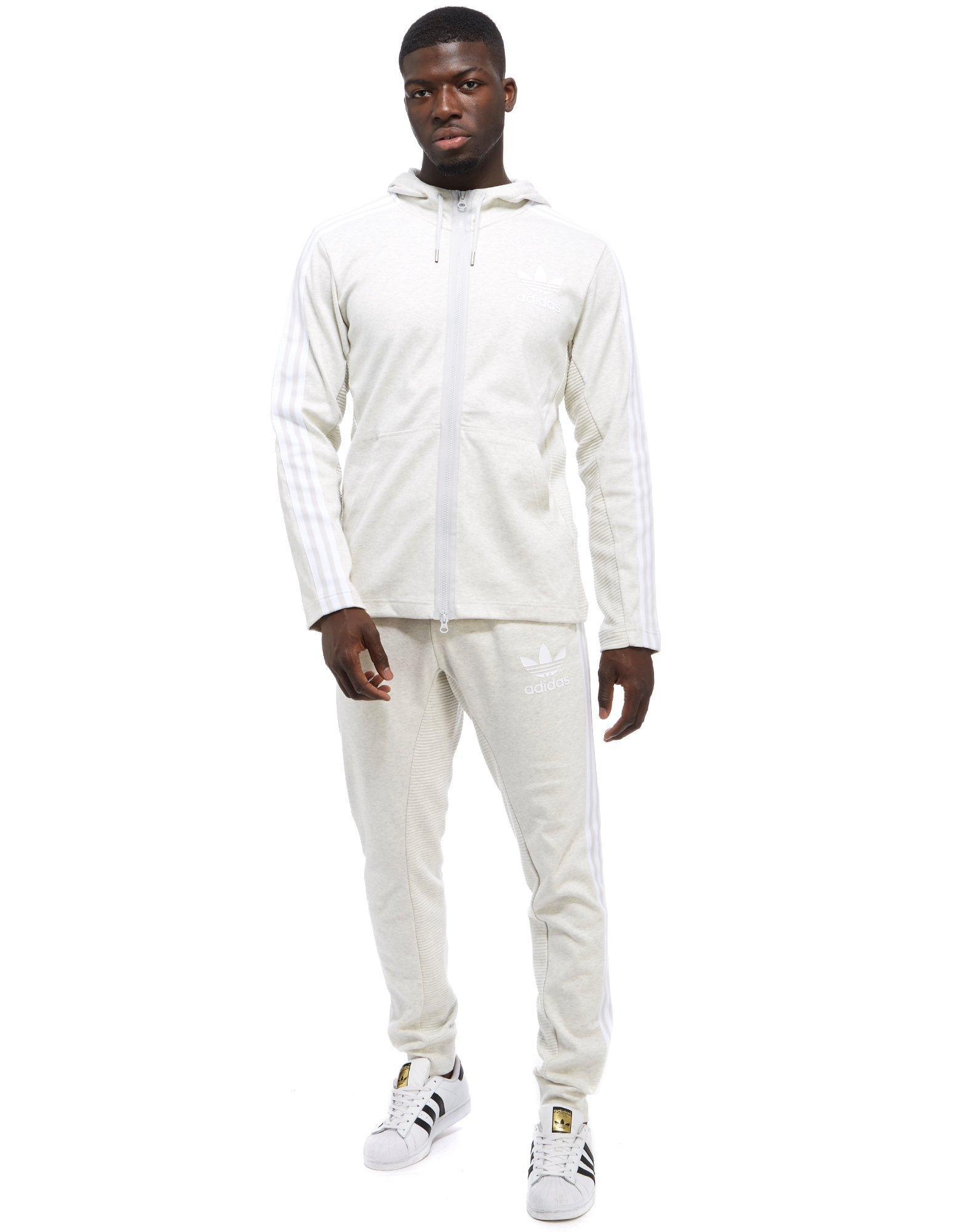 adidas Originals Cotton Curated Sweat Pants in Gray for Men