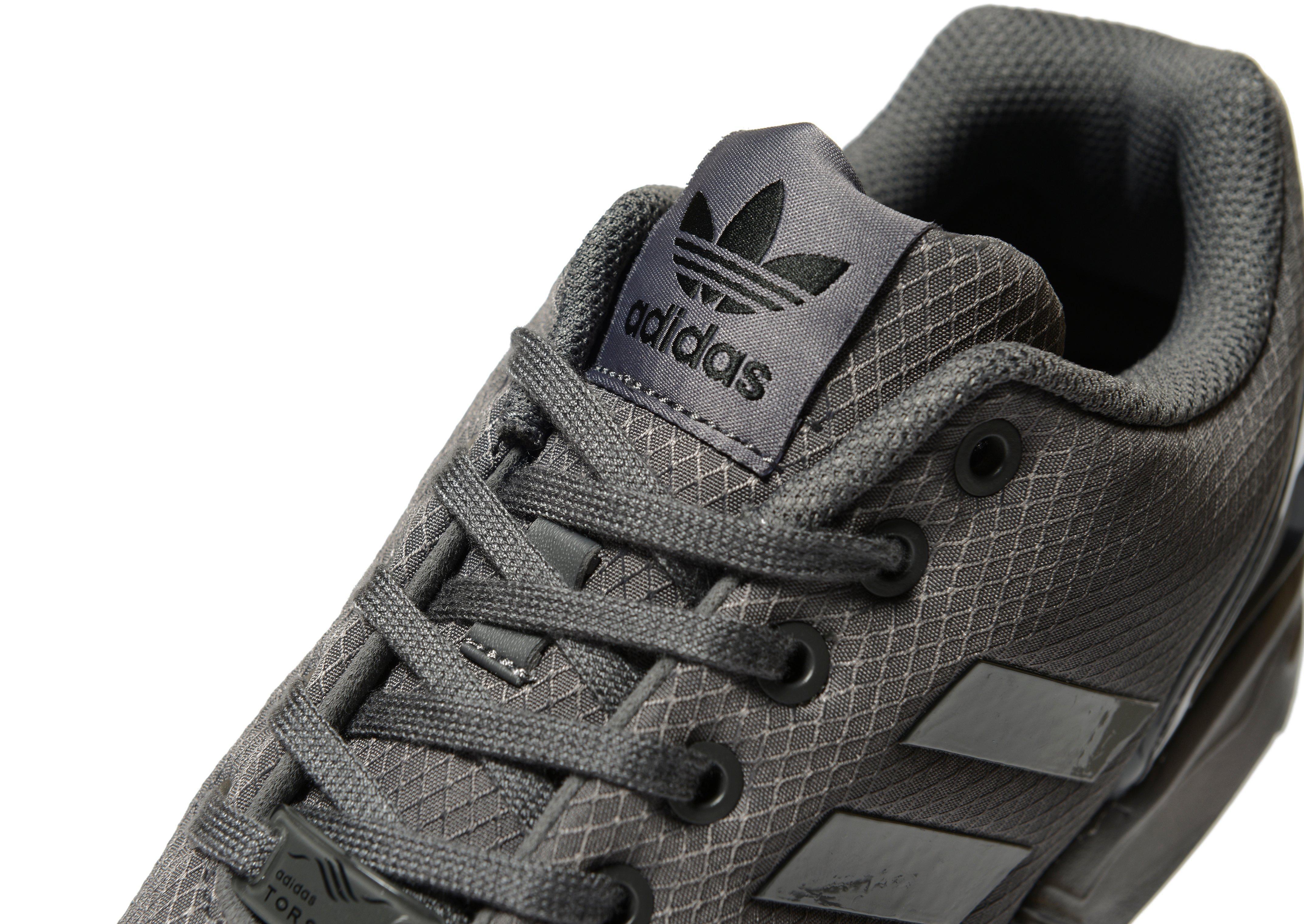 newest 83485 5879d Lyst - Adidas Originals Zx Flux Ripstop in Gray for Men
