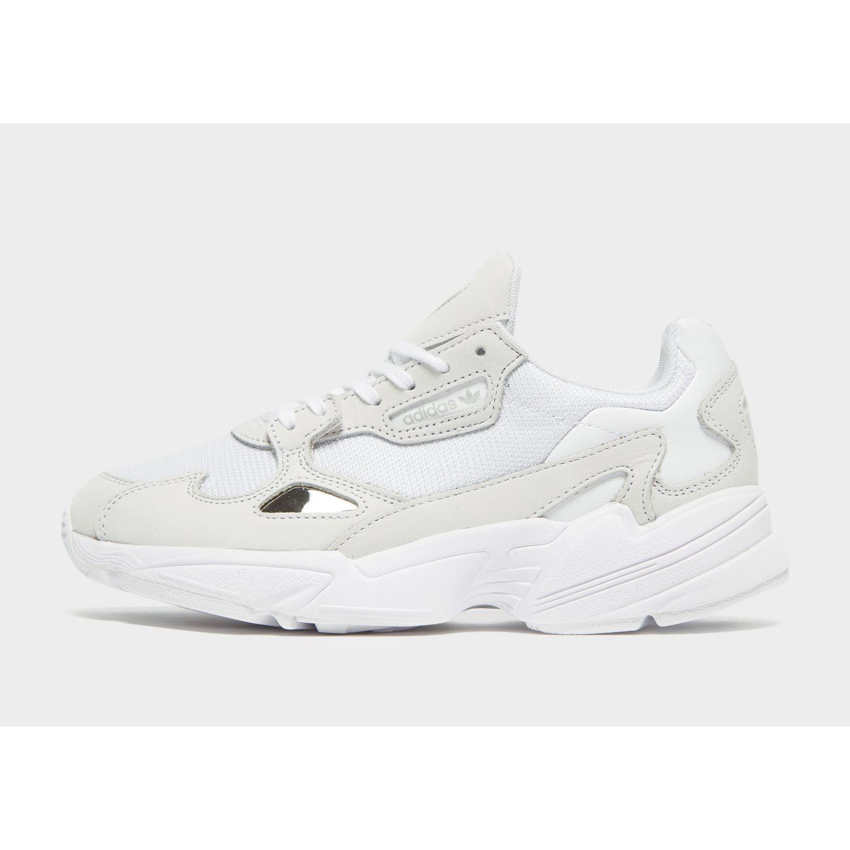 size 40 ee820 67cb0 adidas Originals. Womens White Falcon