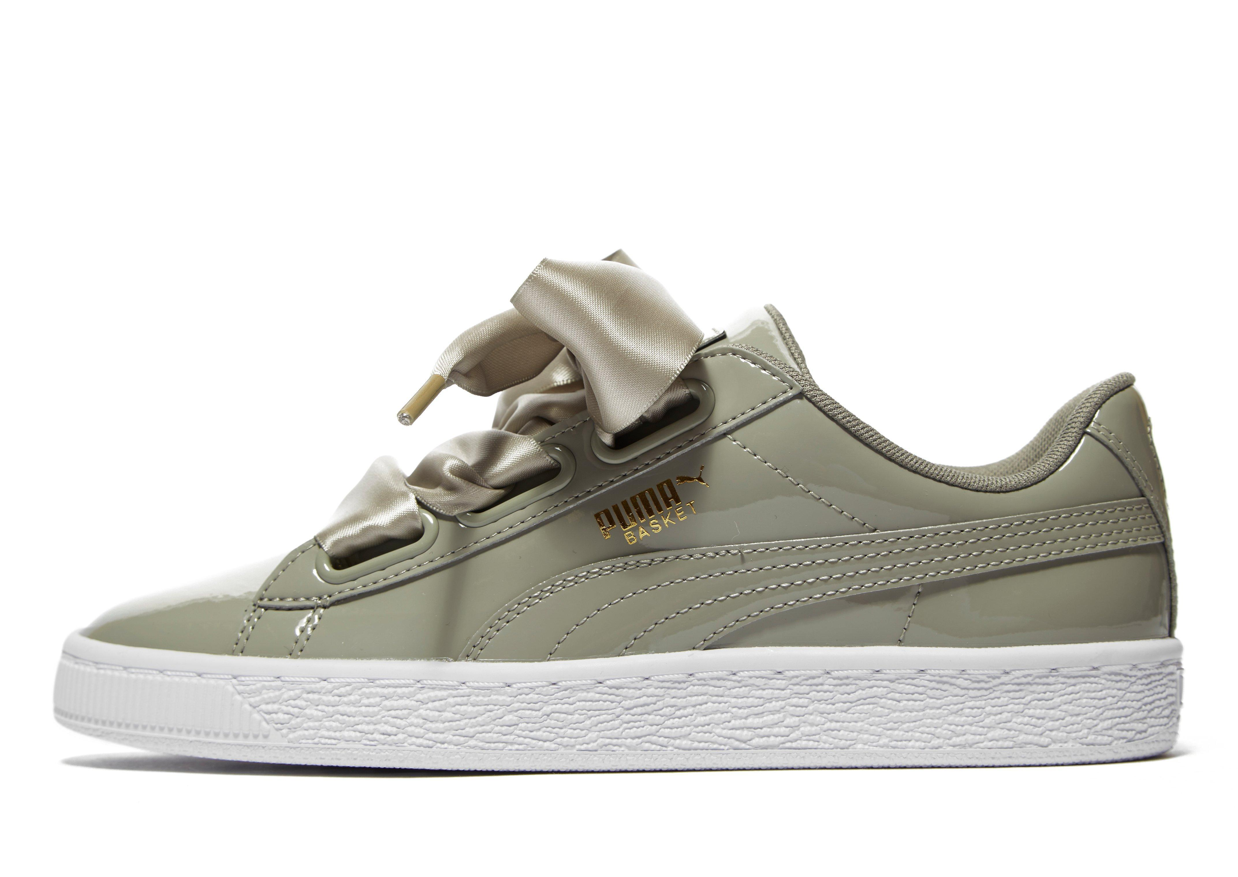 Lyst puma basket heart patent in green for men jpg 4288x3039 Converse patent  leather pumas 87ea3c8d8