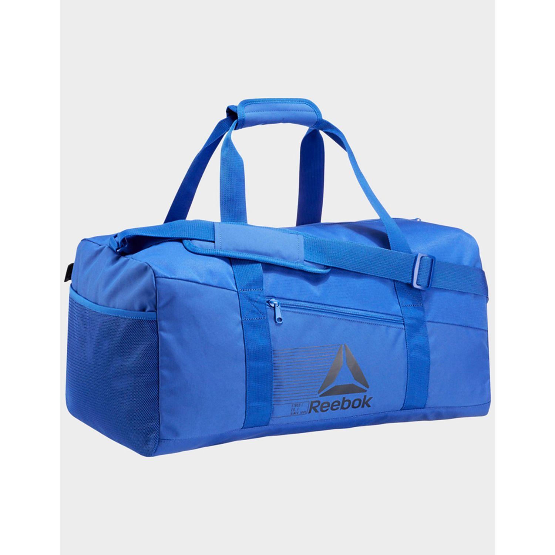431426bfcd7a6 Reebok Active Foundation Grip Duffel Bag Medium in Blue for Men - Lyst