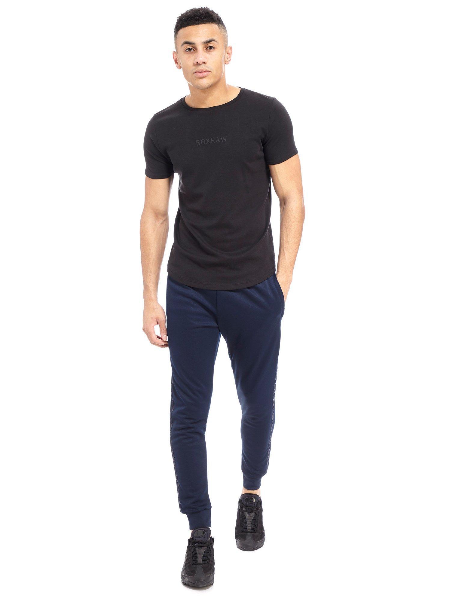 2a1e54f24addc BOXRAW Pima Cotton T-shirt in Black for Men - Lyst