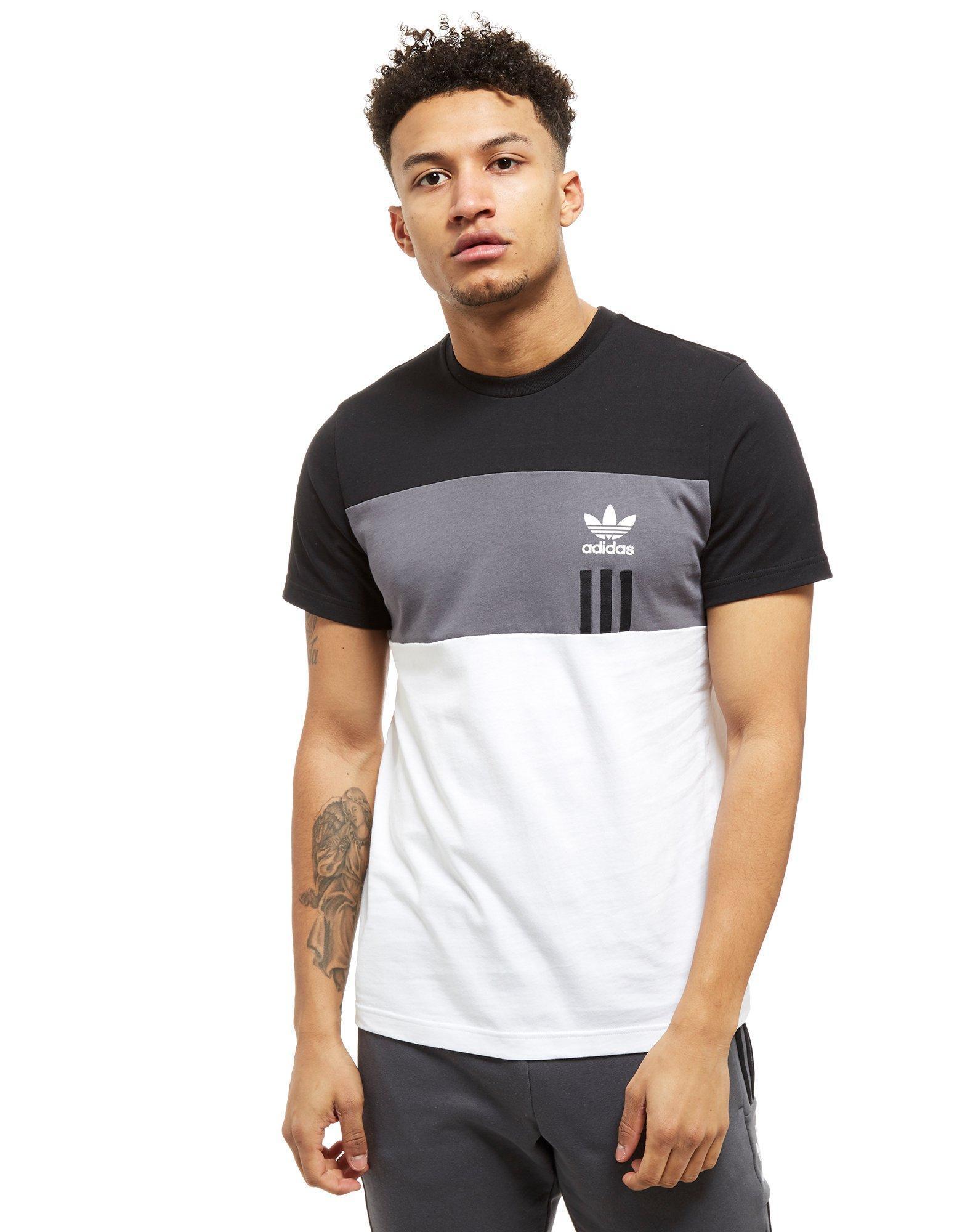 444977e27 adidas Originals Id96 T-shirt in Black for Men - Lyst