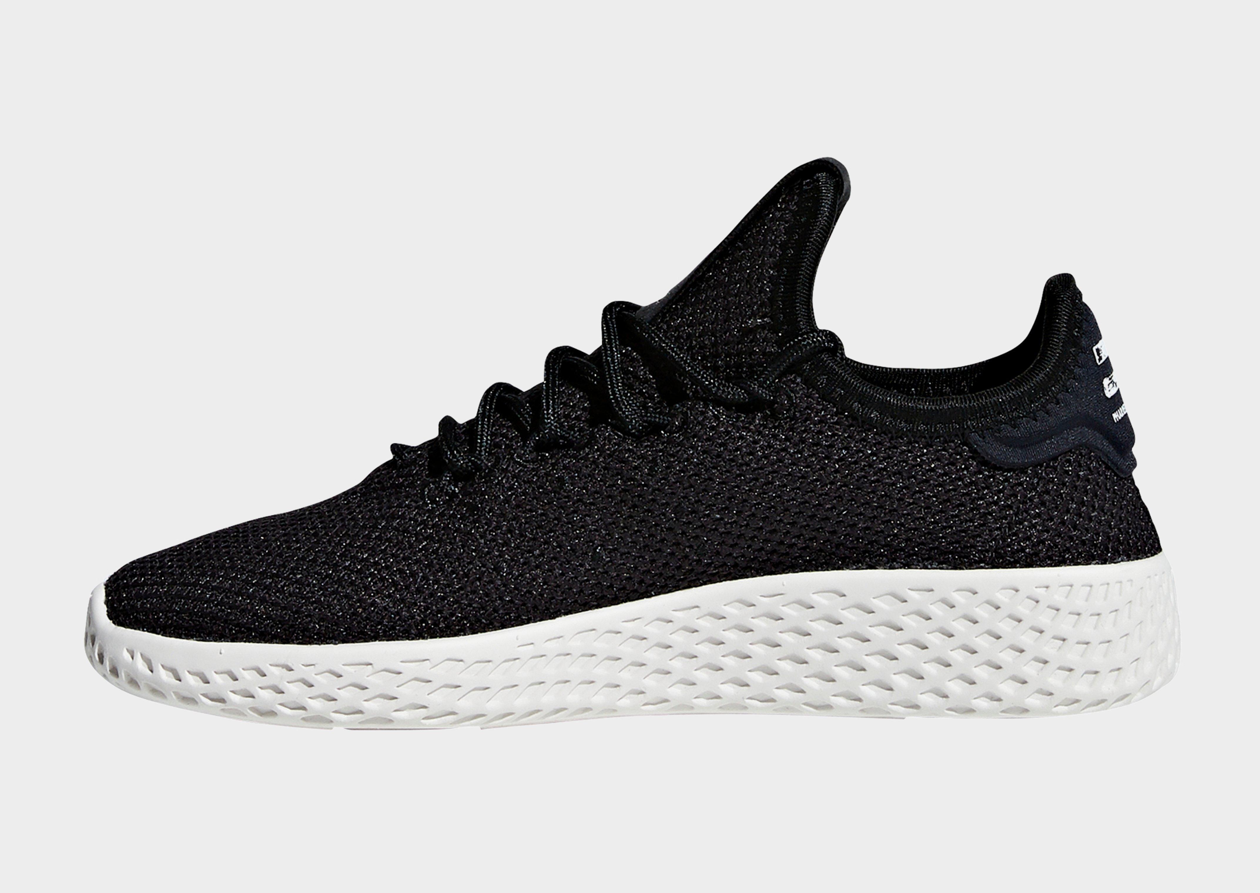 149985acb Lyst - Adidas Pharrell Williams Tennis Hu Shoes in Black for Men
