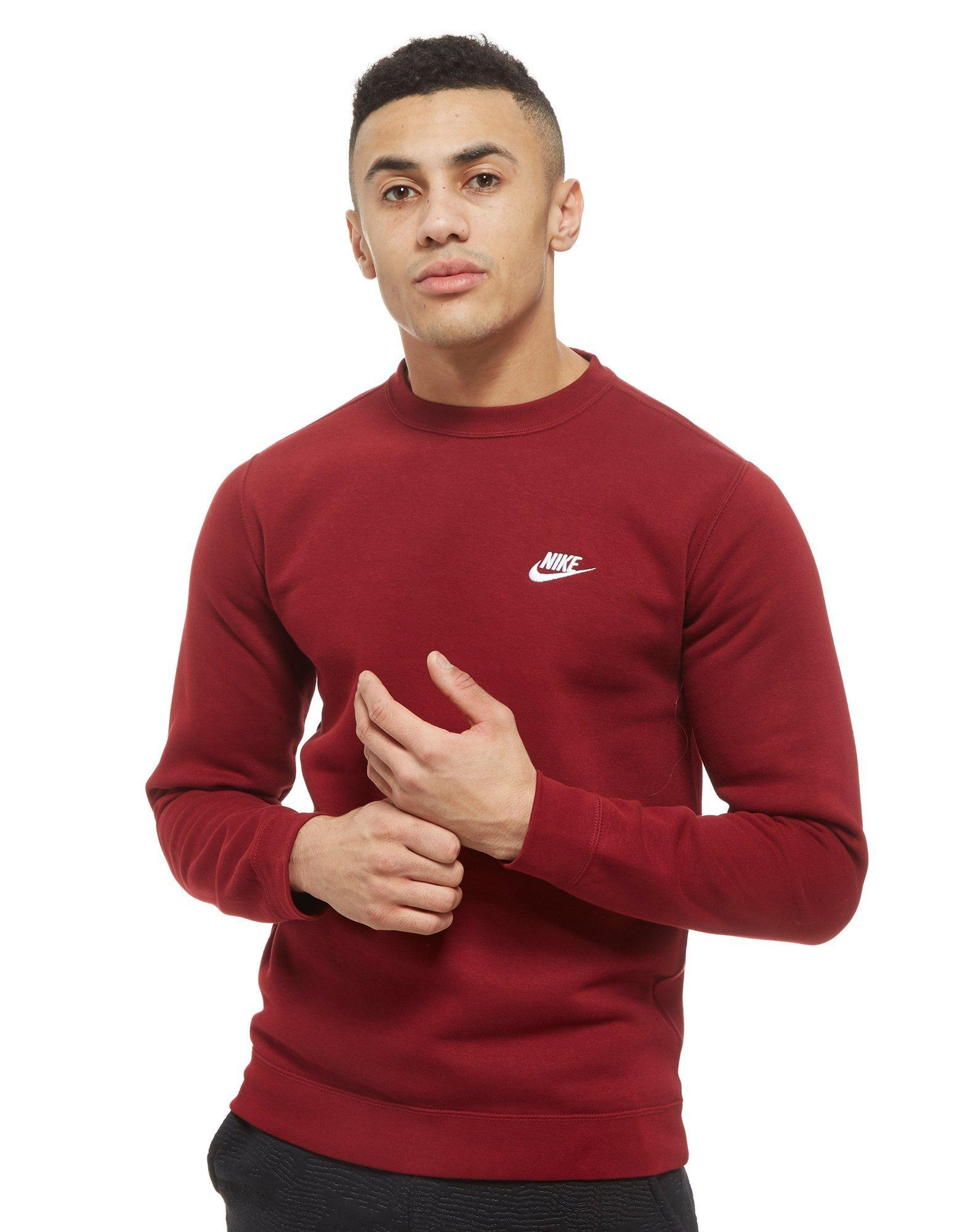 Men Lyst For In Sweatshirt Crew Red 0htvng8 Foundation Nike ZrUw5Z