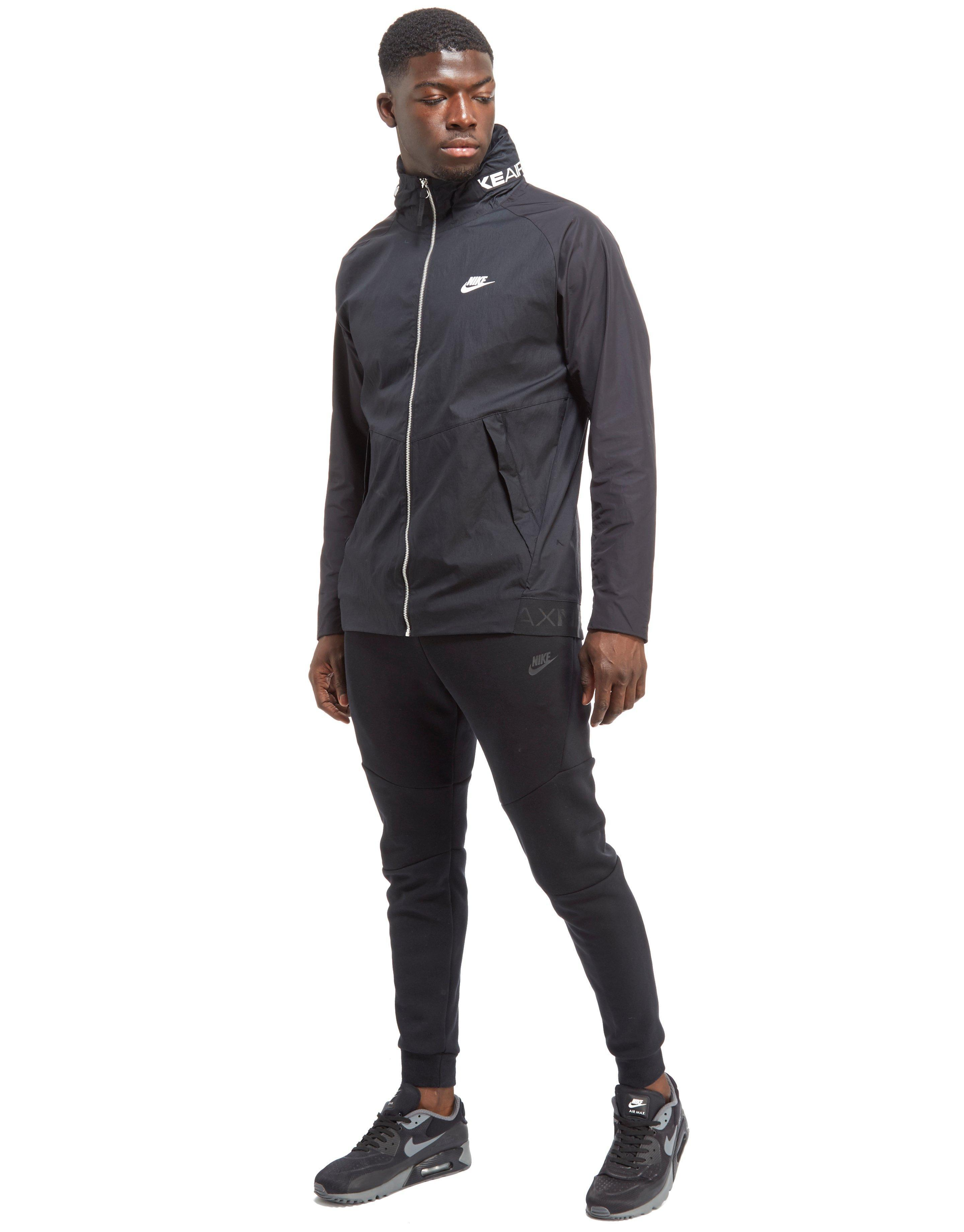 54e0697691 Nike Air Max Jacket in Black for Men - Lyst