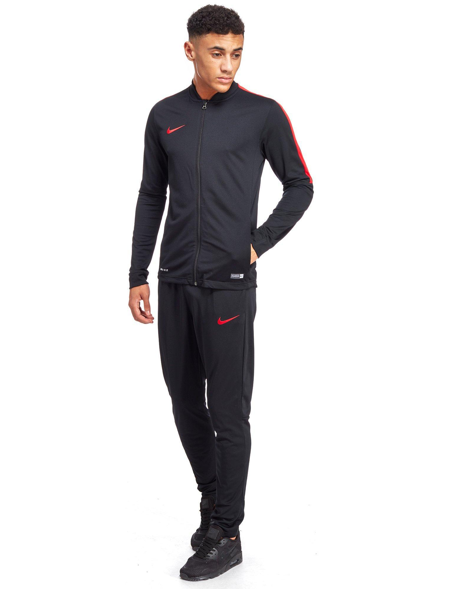 Lyst - Nike Academy Poly Tracksuit in Black for Men 82e67da2dc4a