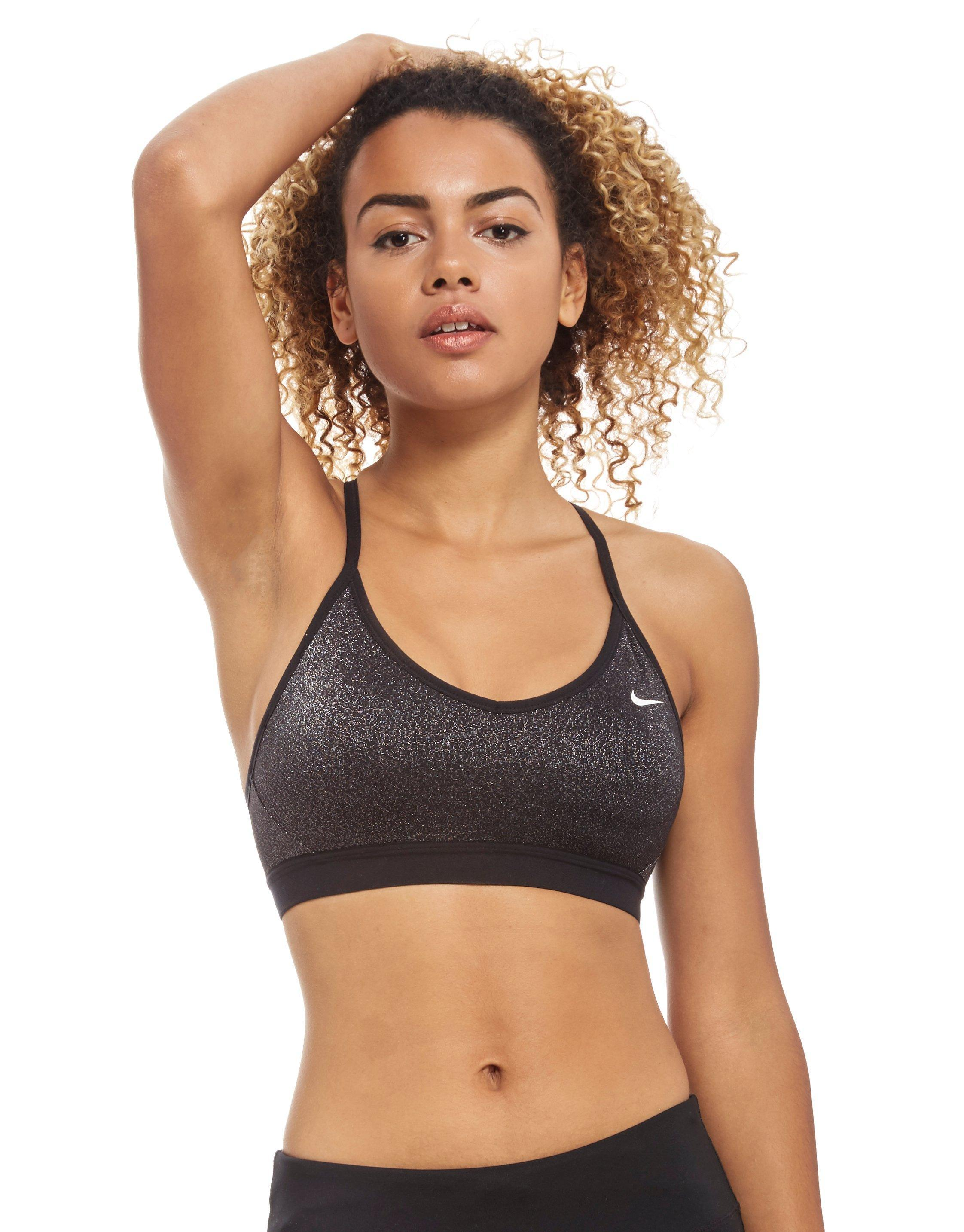 52c0c89df6bbf Lyst - Nike Indy Sparkle Sports Bra in Black