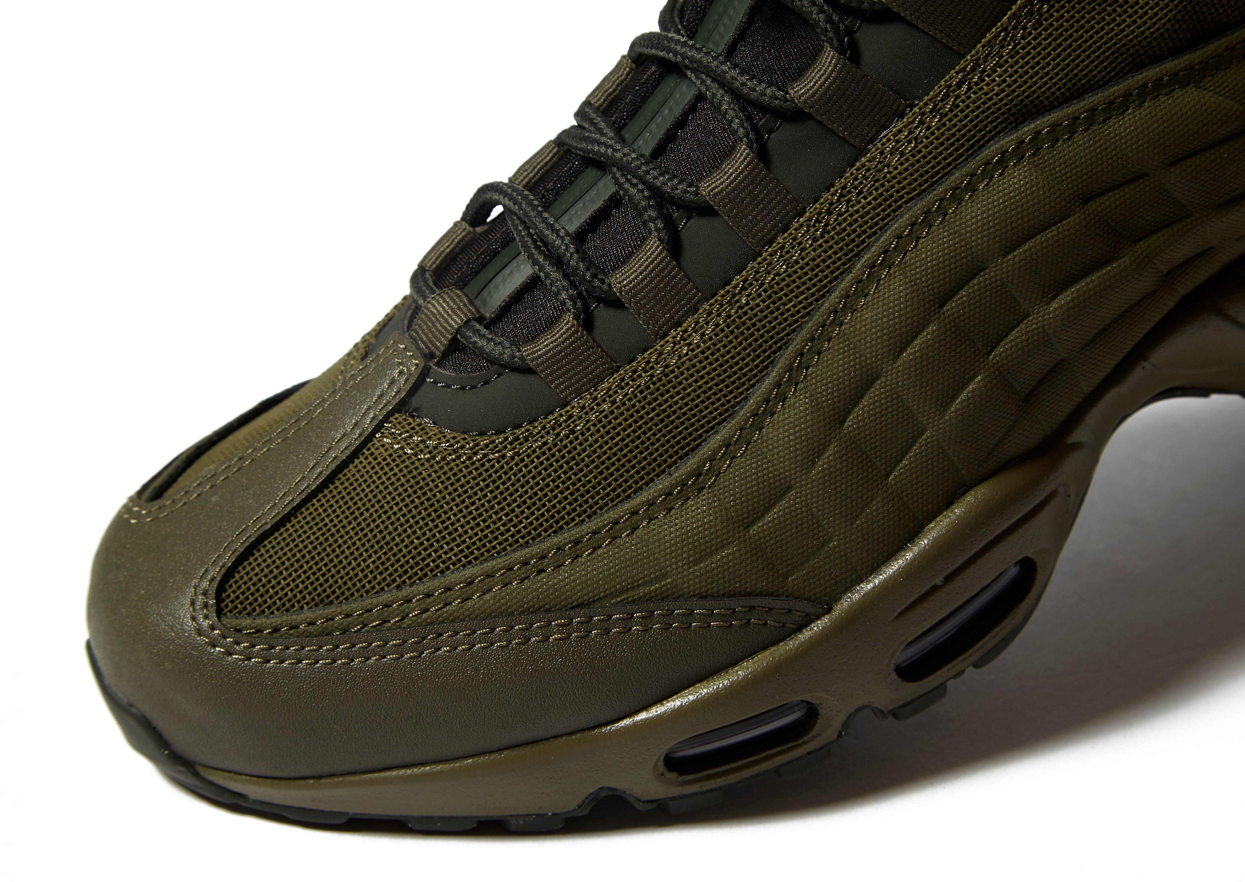 3e04c8c5a86 ... basketball shoes cffc0 98e77  get nike air max 95 sneakerboot in green  for men lyst 96cb8 cc4a7