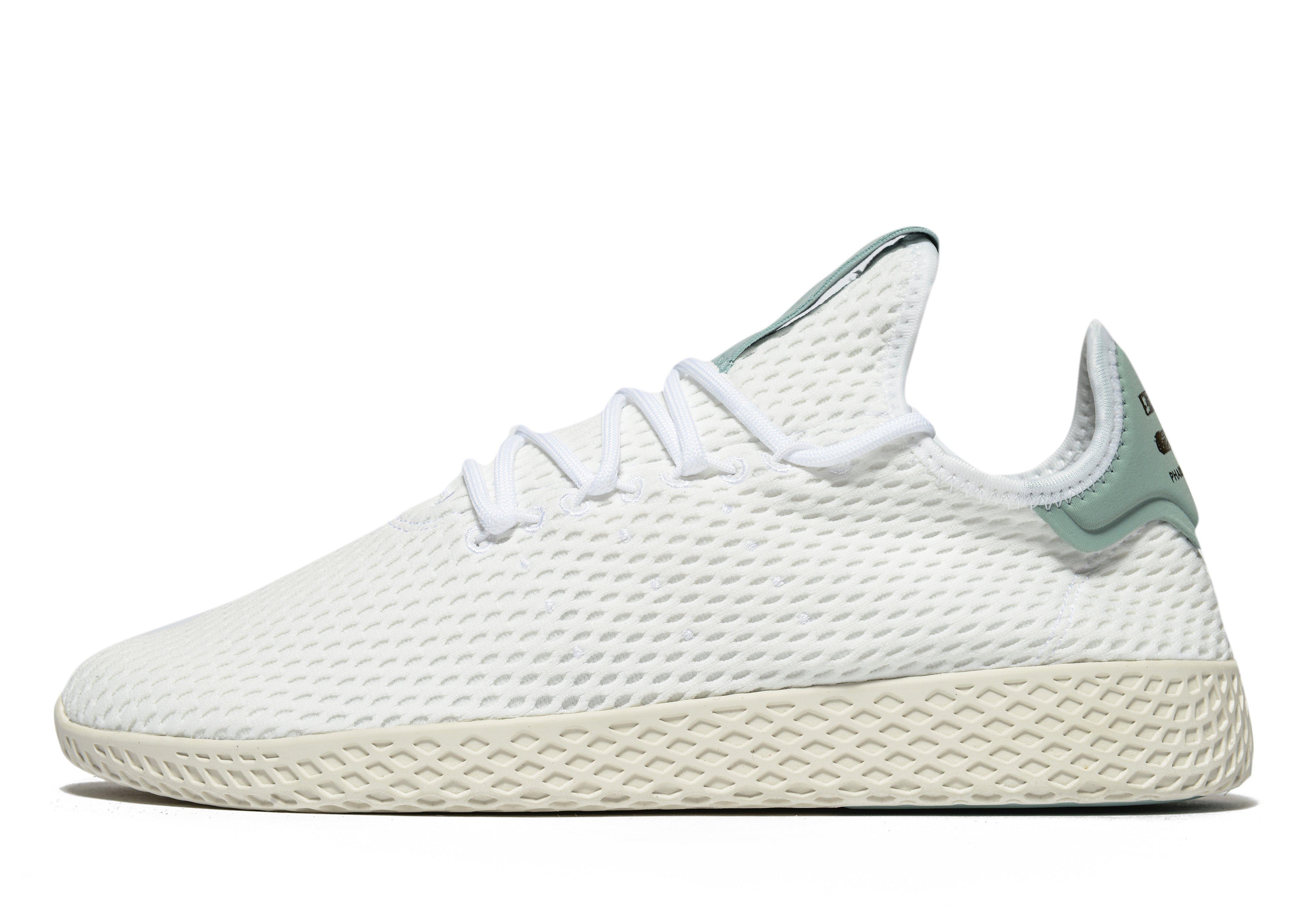 d271b754f ... inexpensive lyst adidas originals pharrell williams tennis hu in white  6964c 75e7f