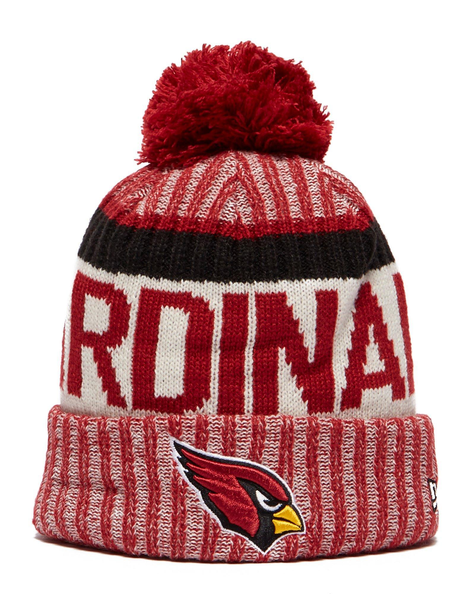 outlet store aaf19 417b1 ... official store lyst ktz arizona cardinals sideline knitted hat in red  4bd8a 4bd6f