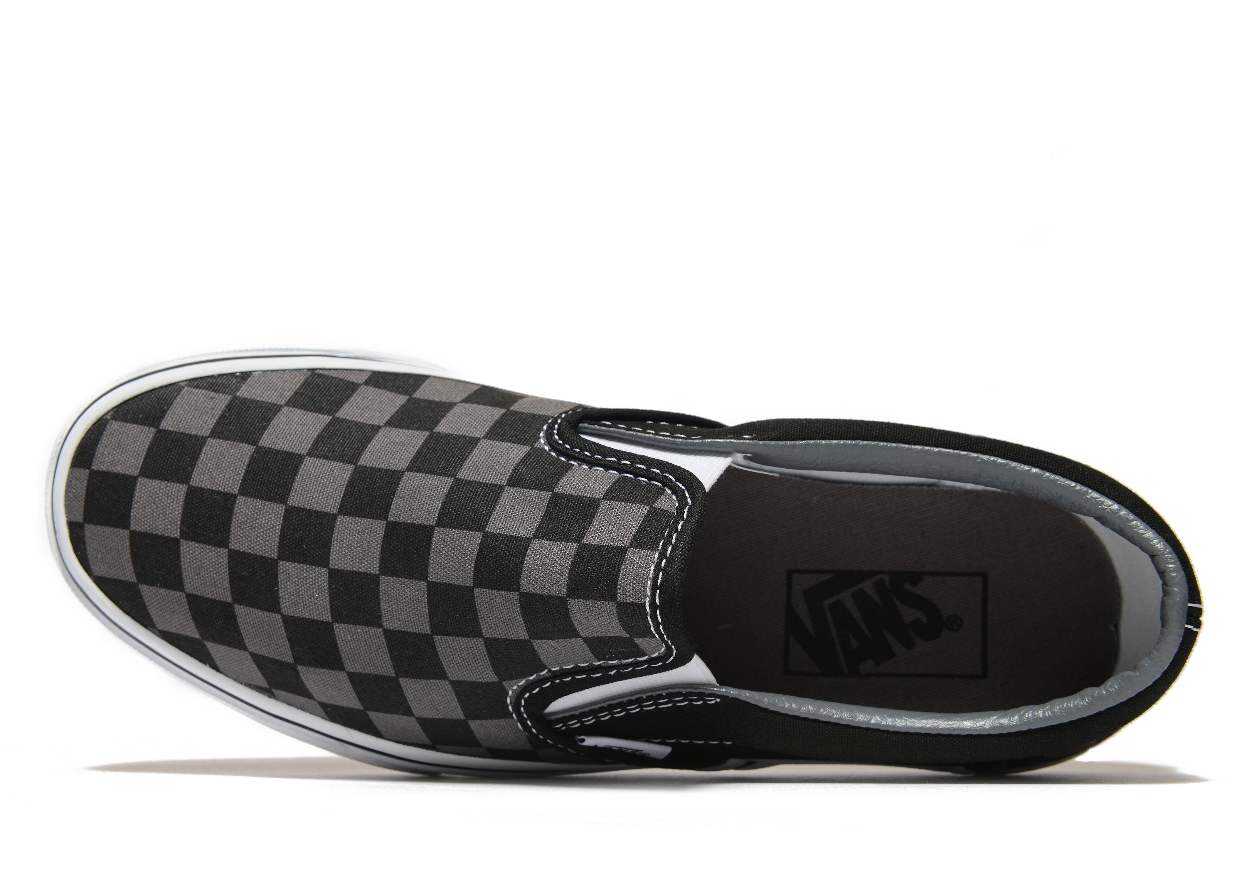 3a87eb90d094 Lyst - Vans Classic Slip On in Black