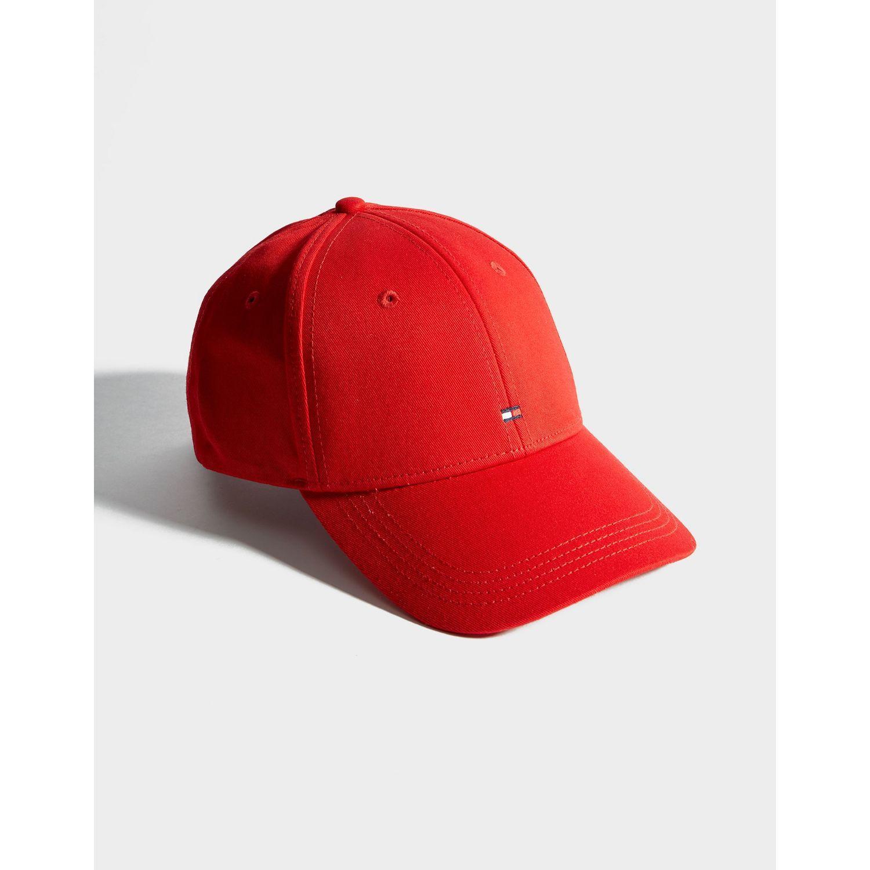 b5aa030a Tommy Hilfiger - Red Classic Flag Cap - Lyst. View fullscreen