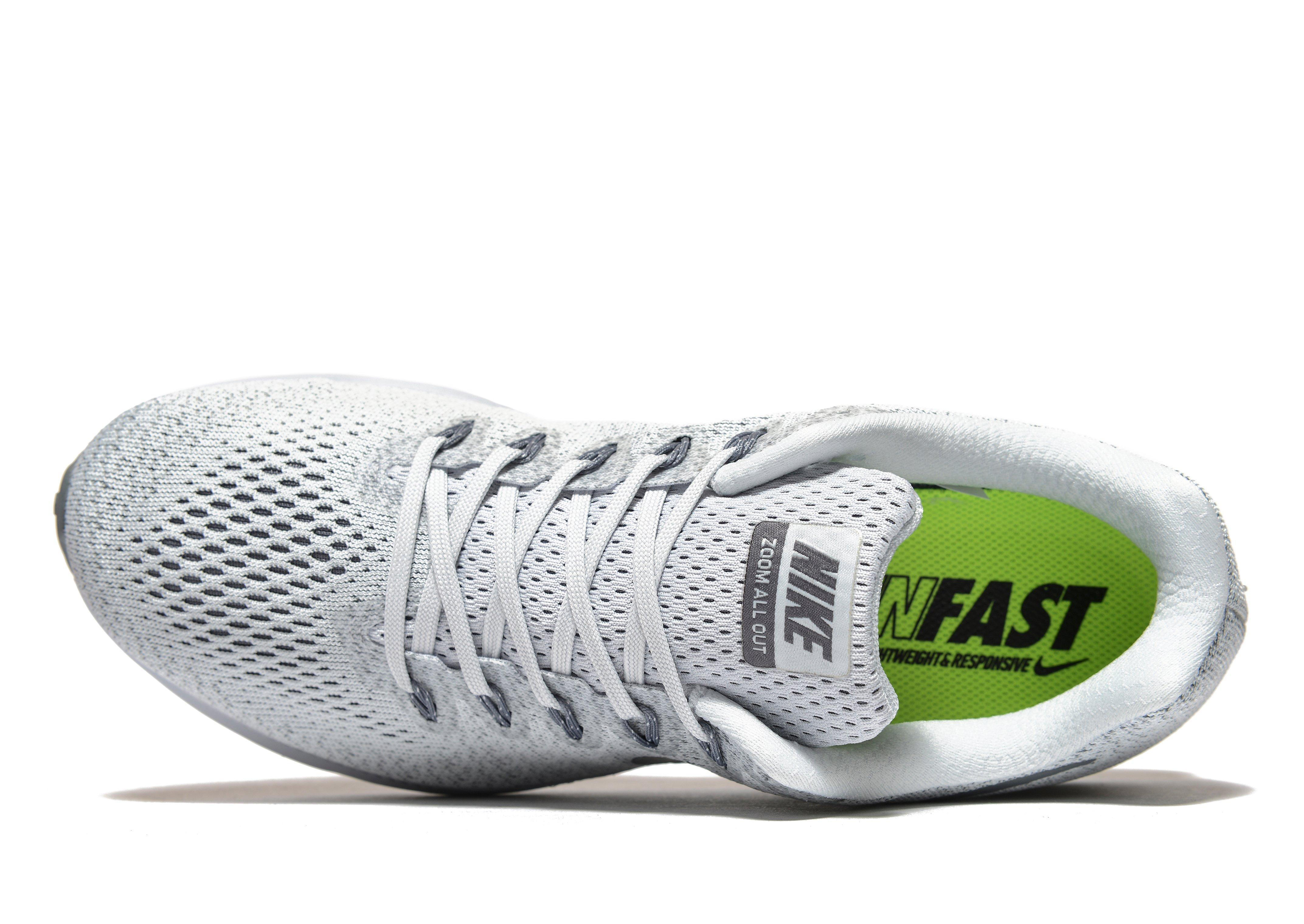 c9ff6ffdc711 ... shopping lyst nike zoom all out low in gray for men eb6a9 bac9c