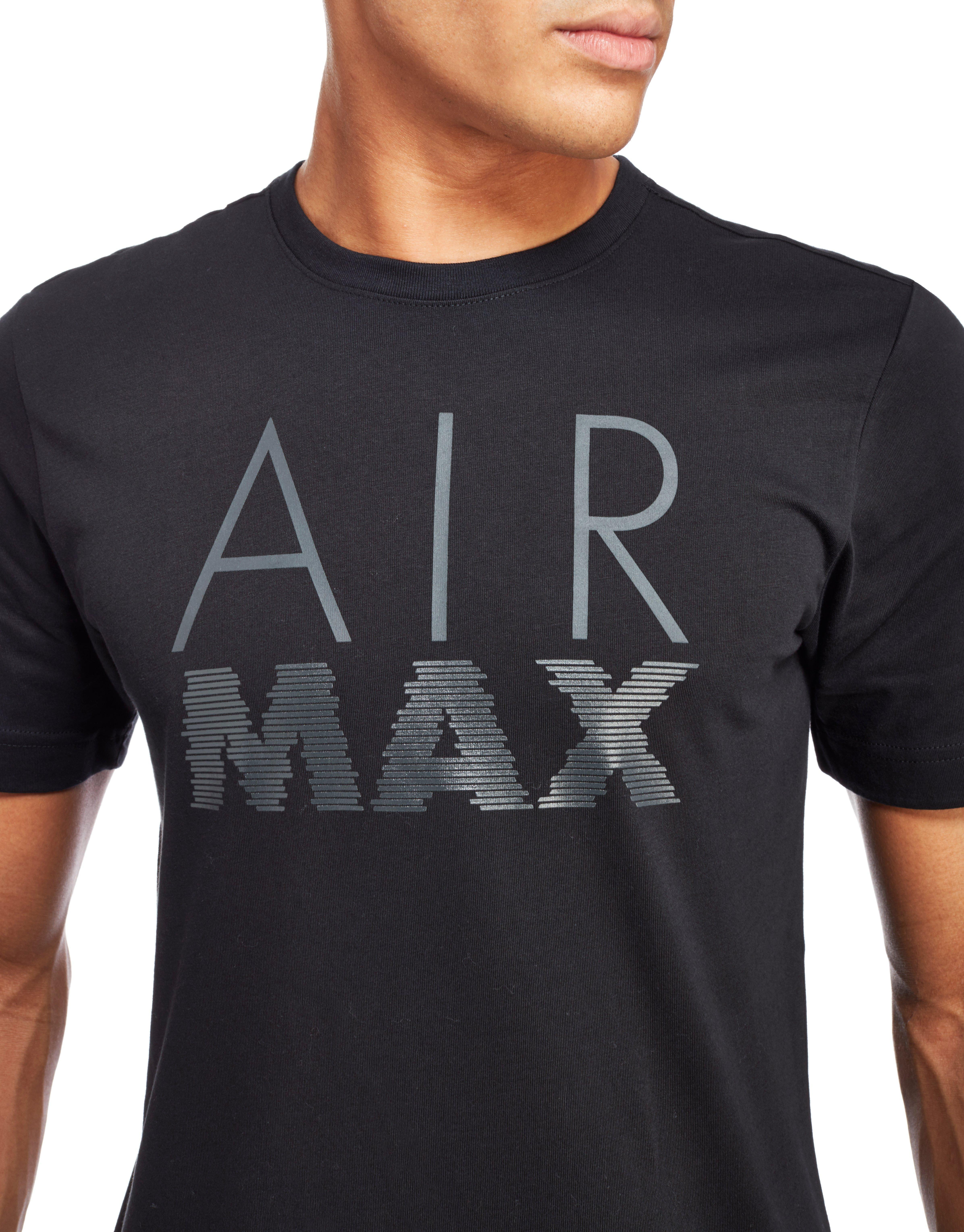 Nike Air Max T Shirt In Black For Men Lyst