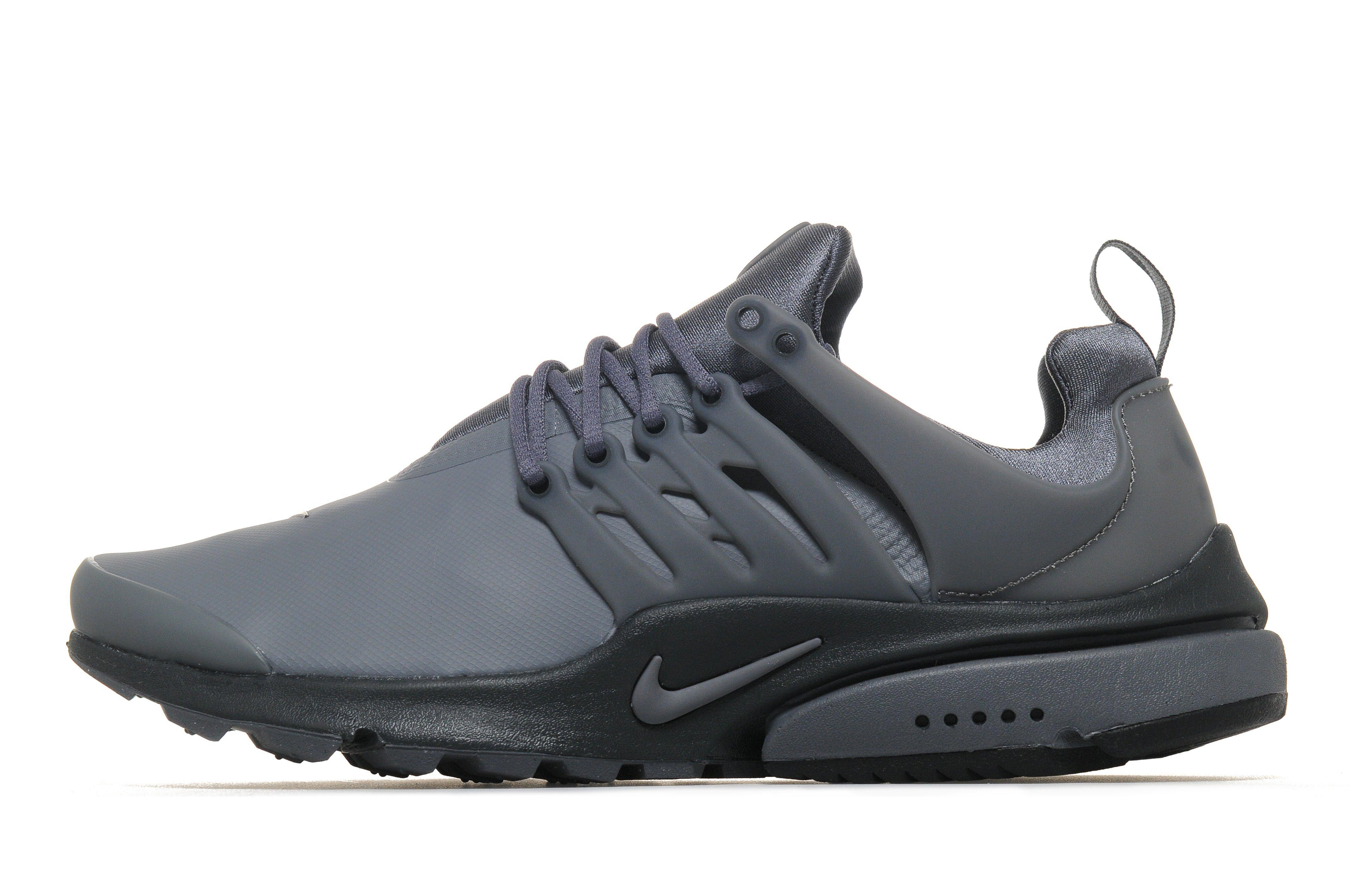 nike air presto low utility in gray for men lyst. Black Bedroom Furniture Sets. Home Design Ideas